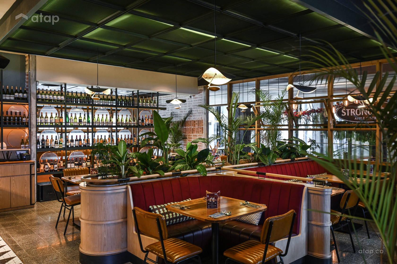 Classic Minimalistic F&B @ S'more Restaurant and Bar