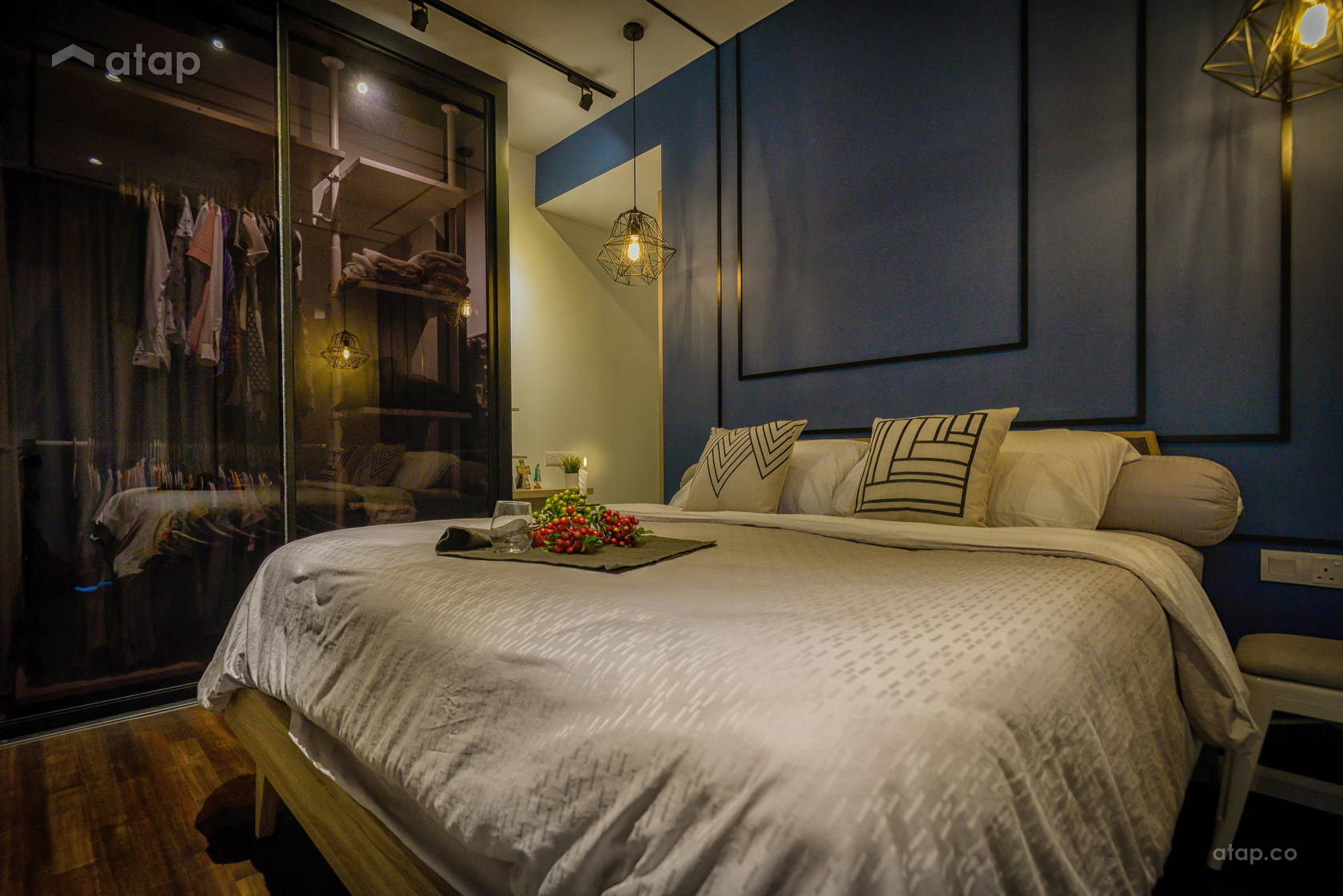Industrial Modern Bedroom @ Glomac Damansara