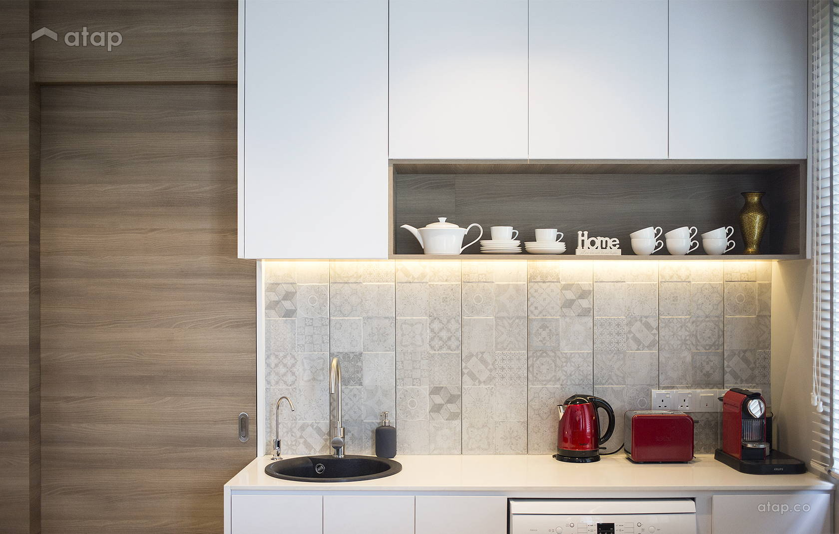 Modern Zen Kitchen Semi Detached Design Ideas Photos Malaysia