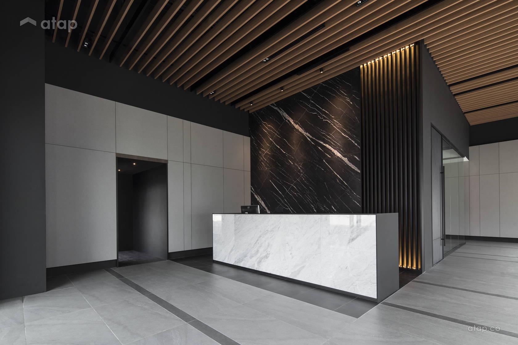Contemporary Modern Office @ AMH Technologies