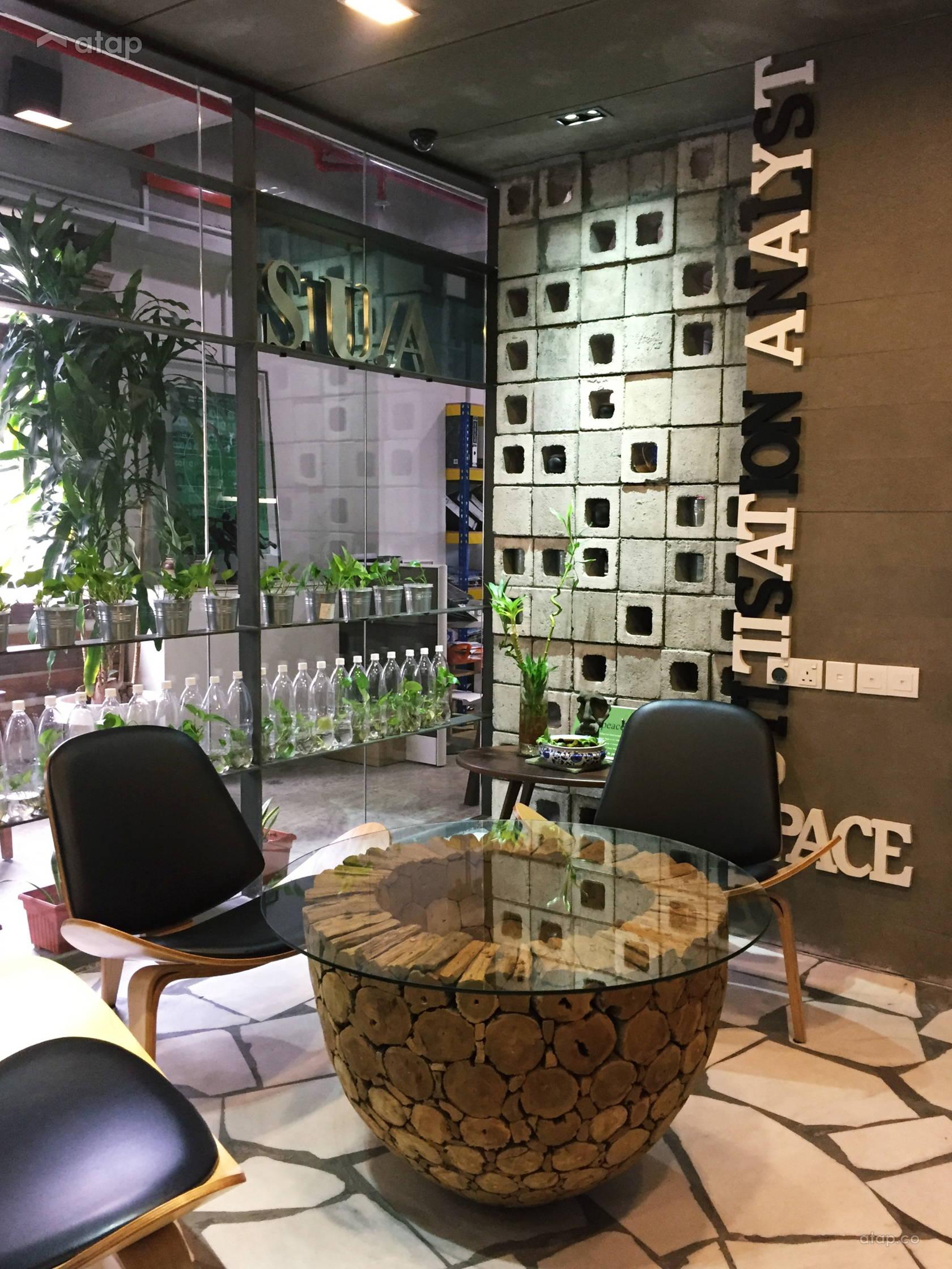 Rustic Zen Office @ S.U.A. HeadQuarter
