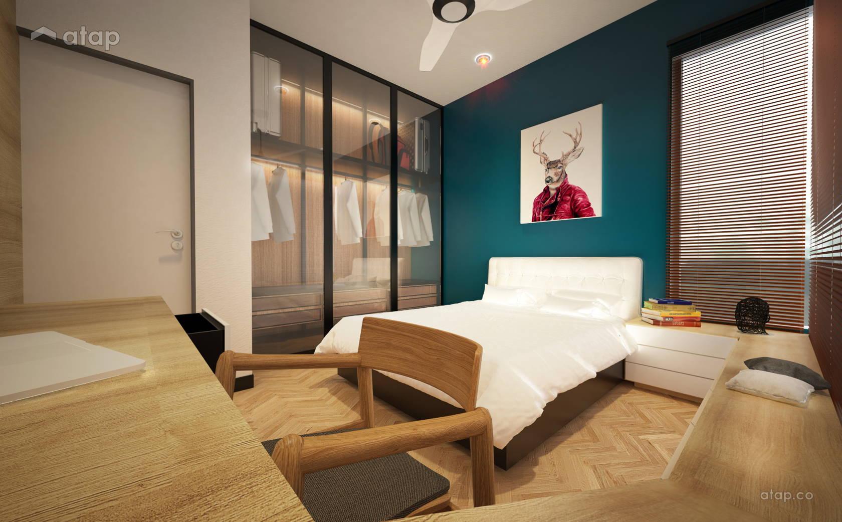 Contemporary Modern Bedroom @ Urbana Residence @ Ara Damansara | Kuala Lumpur | Malaysia