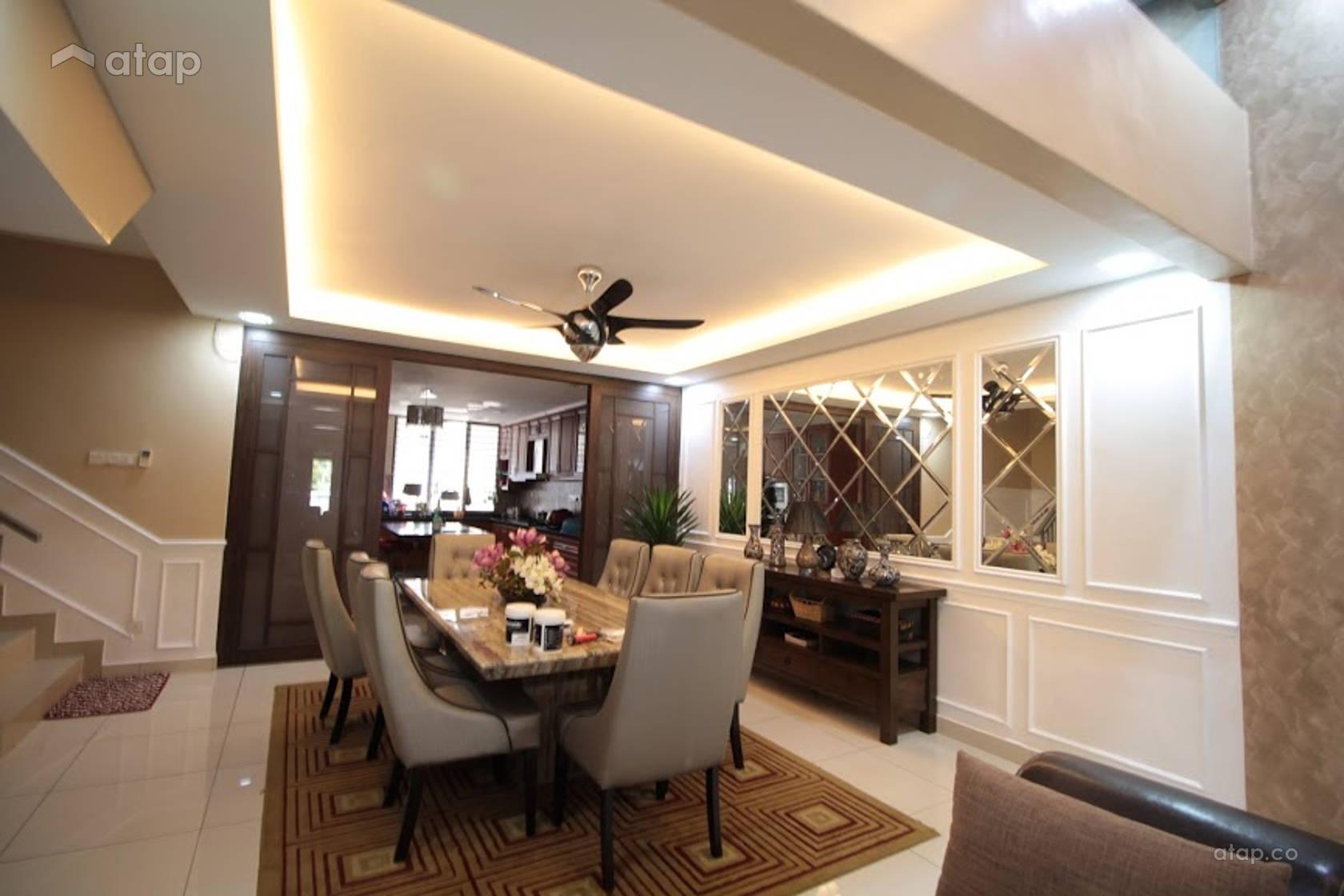 Clic Modern Dining Room terrace design ideas & photos Malaysia ... on