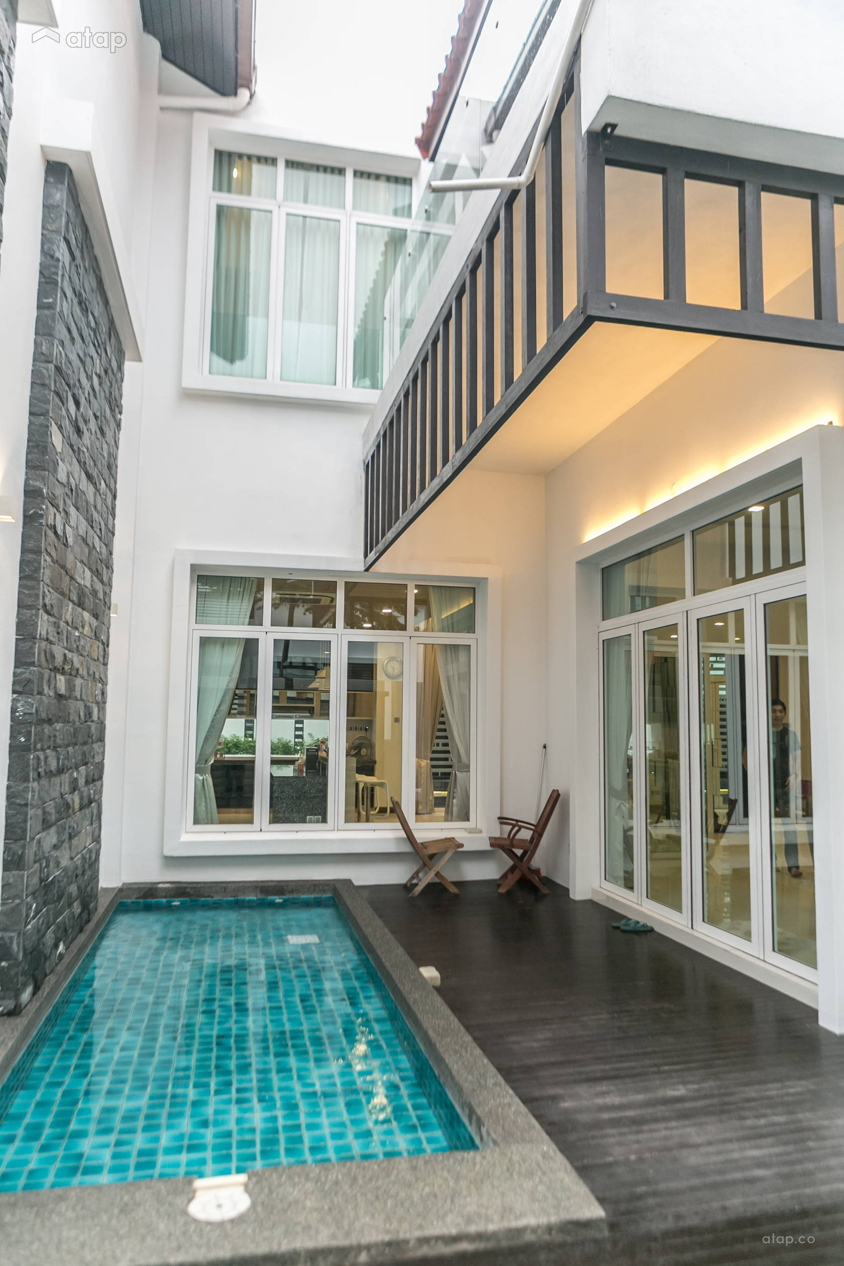 Classic Modern Exterior Bungalow Design Ideas Photos Malaysia