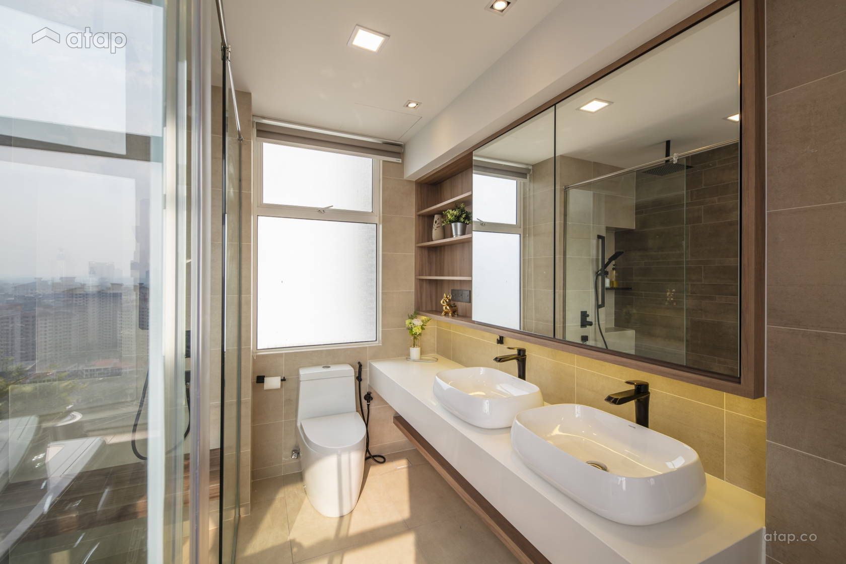 Modern Bathroom @ Bukit Utama 9