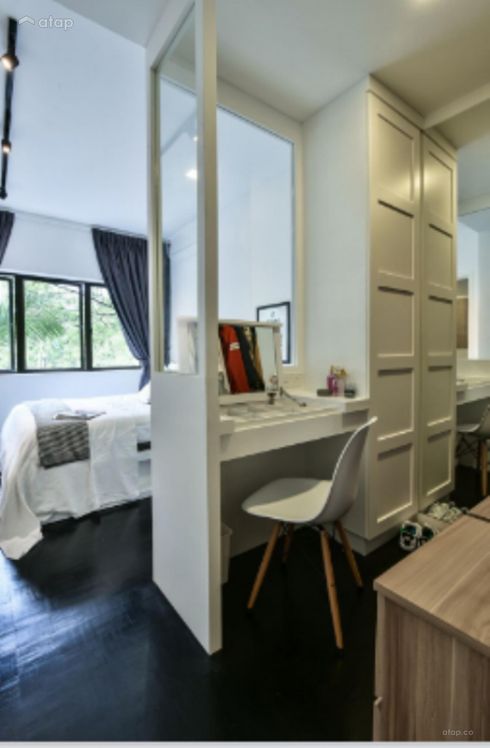 Condominium Study Room: Study Room Bedroom Condominium Design Ideas & Photos