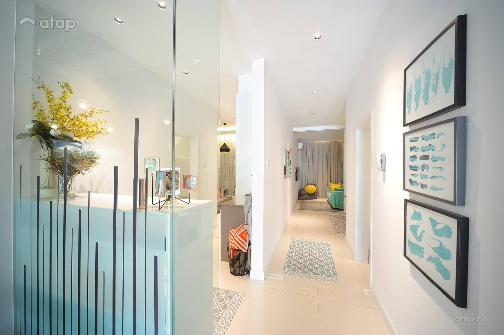 Scandinavian Foyer @ HighPark Suites