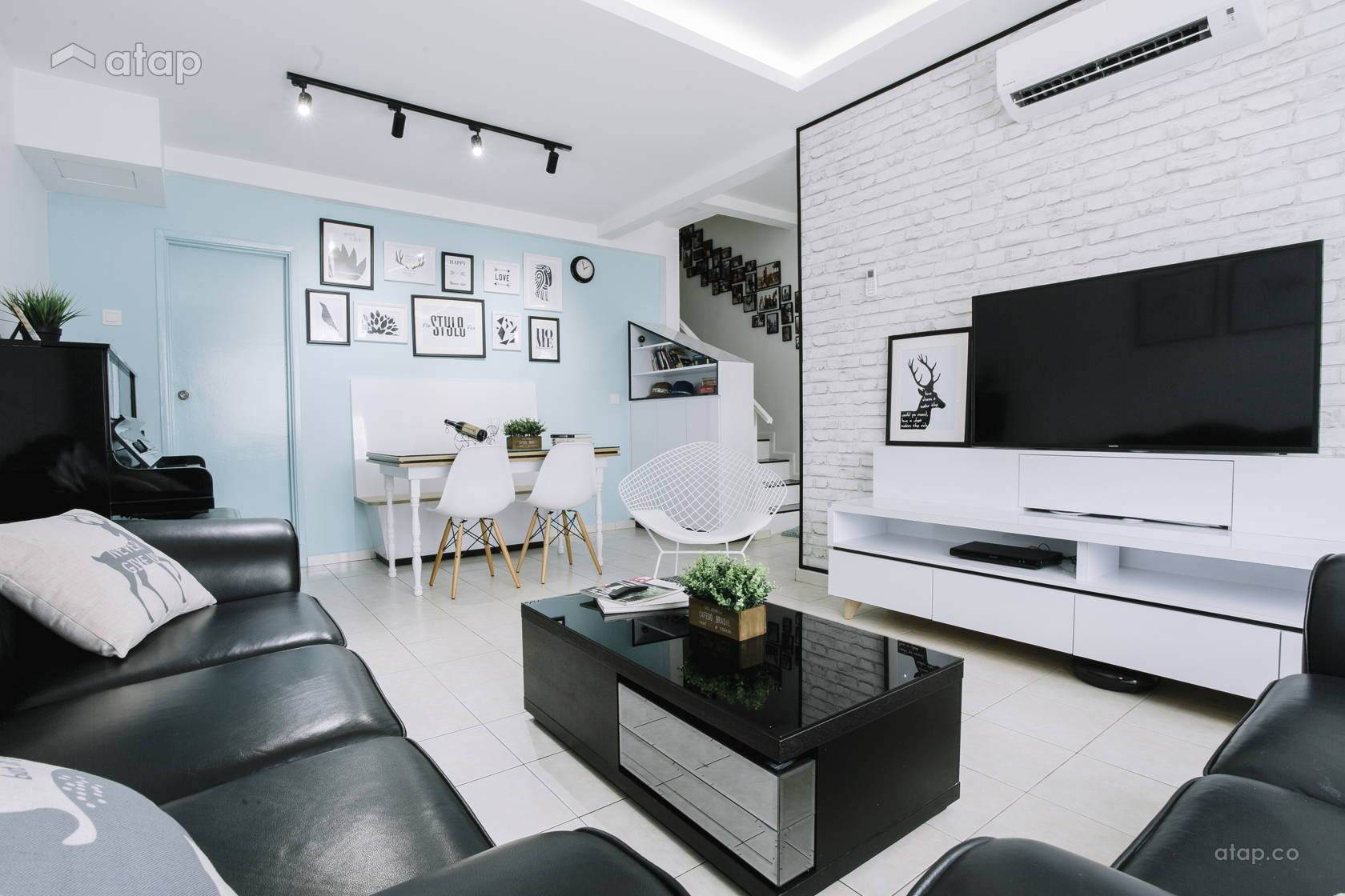 Contemporary Scandinavian Dining Room Living Room @ Villa Ros | Tmn Tampoi Indah | Skudai | Johor Bahru | Malaysia