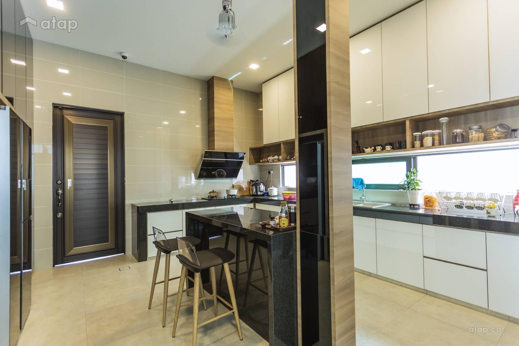 Contemporary Modern Kitchen Bungalow Design Ideas Photos Malaysia