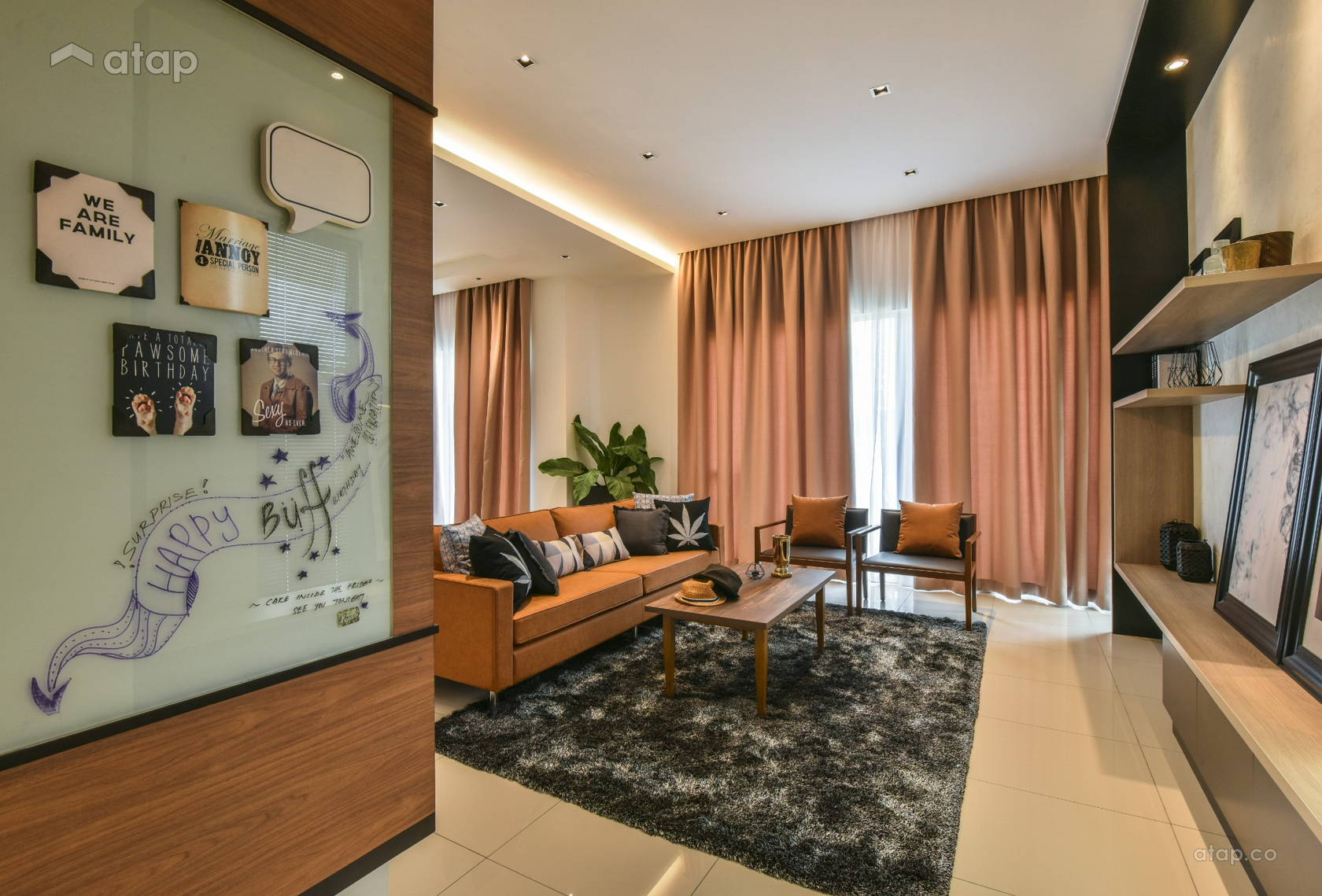 Contemporary Foyer @ Gamuda Garden 1B