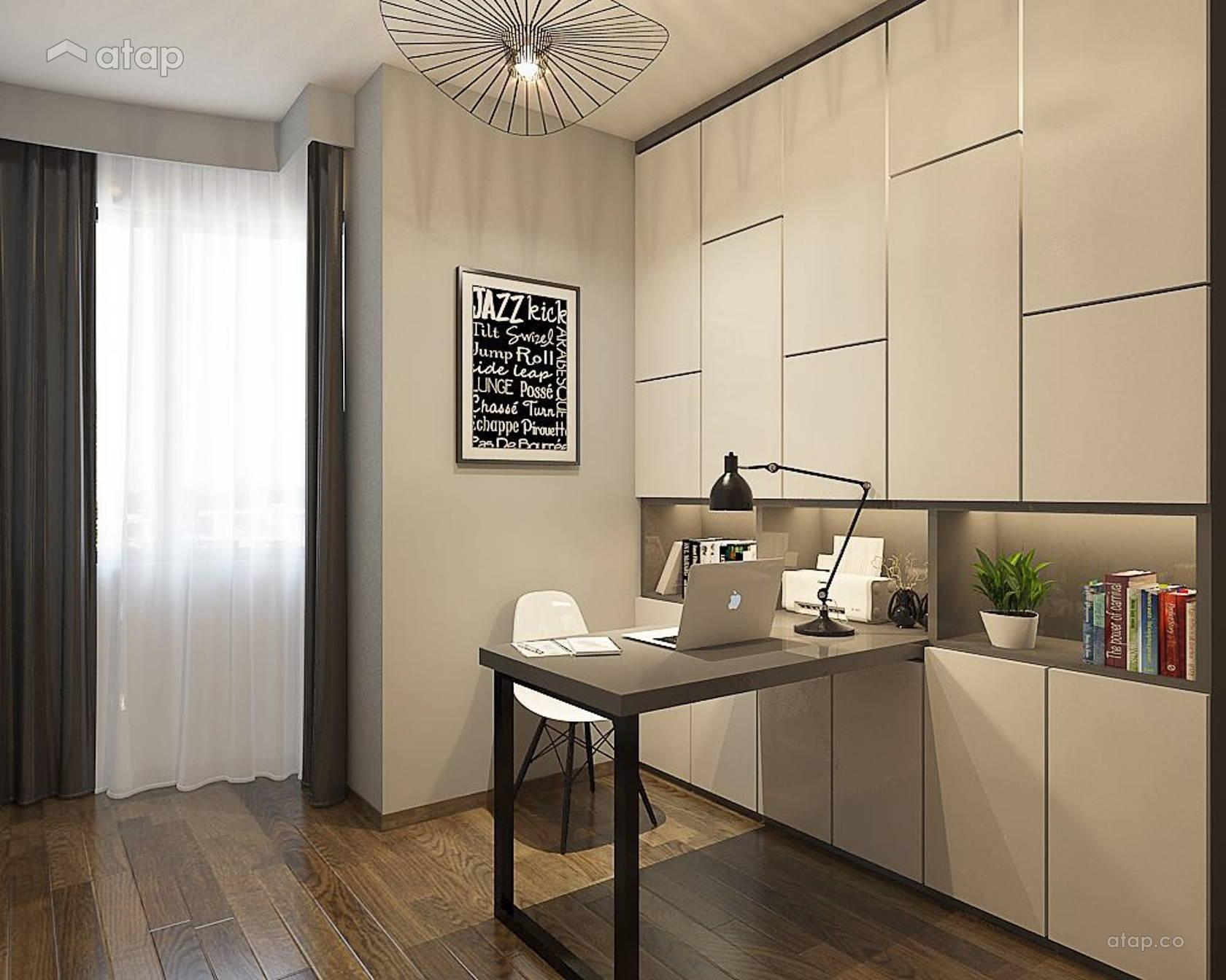 Contemporary Modern Study Room Apartment Design Ideas Photos Malaysia Atap Co,Simple Minecraft House Roof Designs