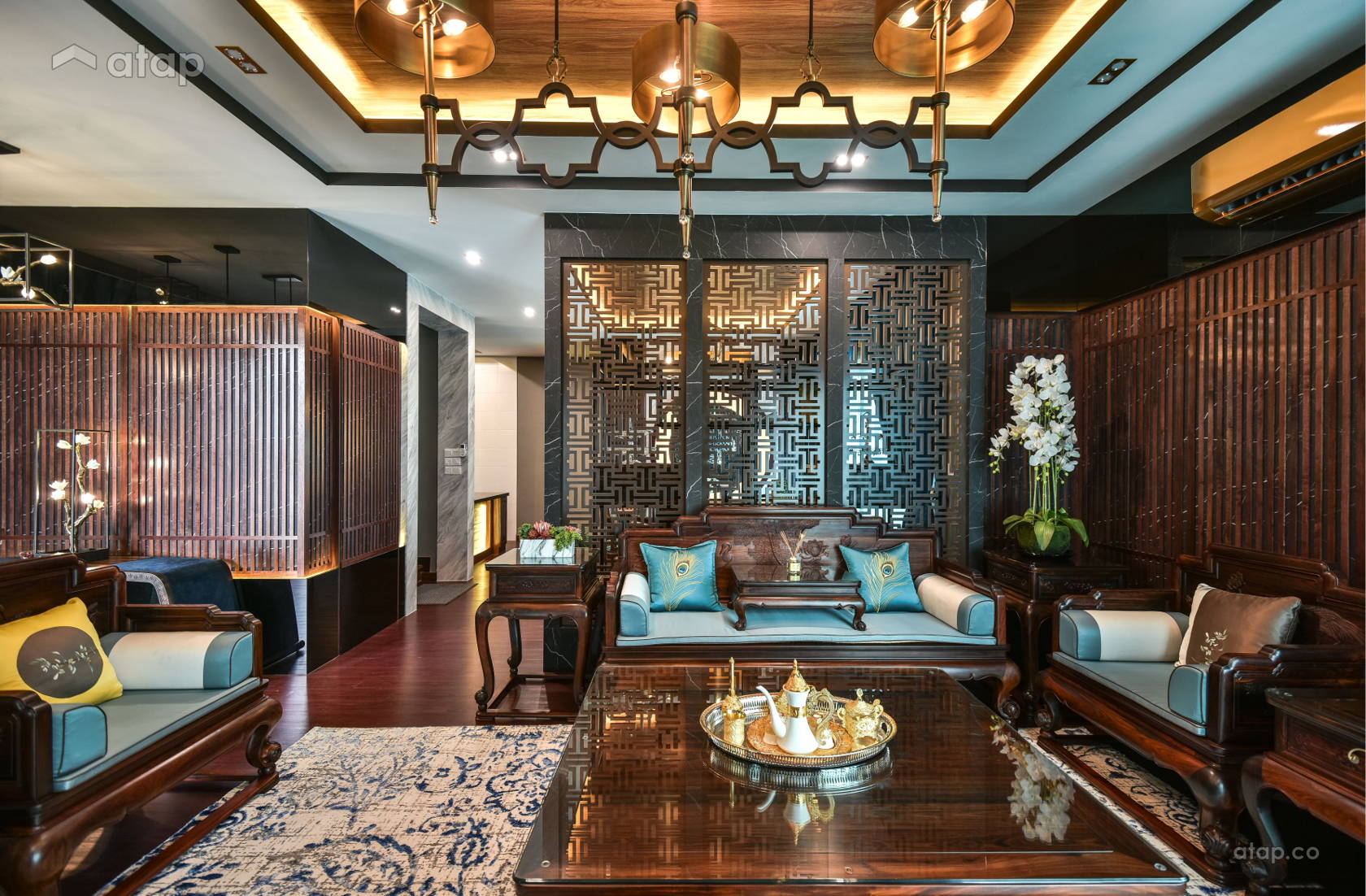 Asian Classic Living Room @ Setia Eco Glades