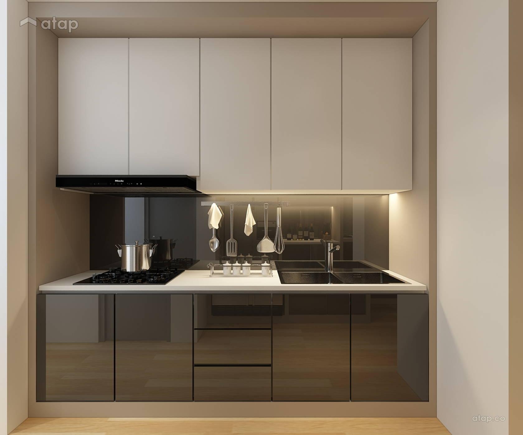 Contemporary Modern Kitchen condominium design ideas & photos ...