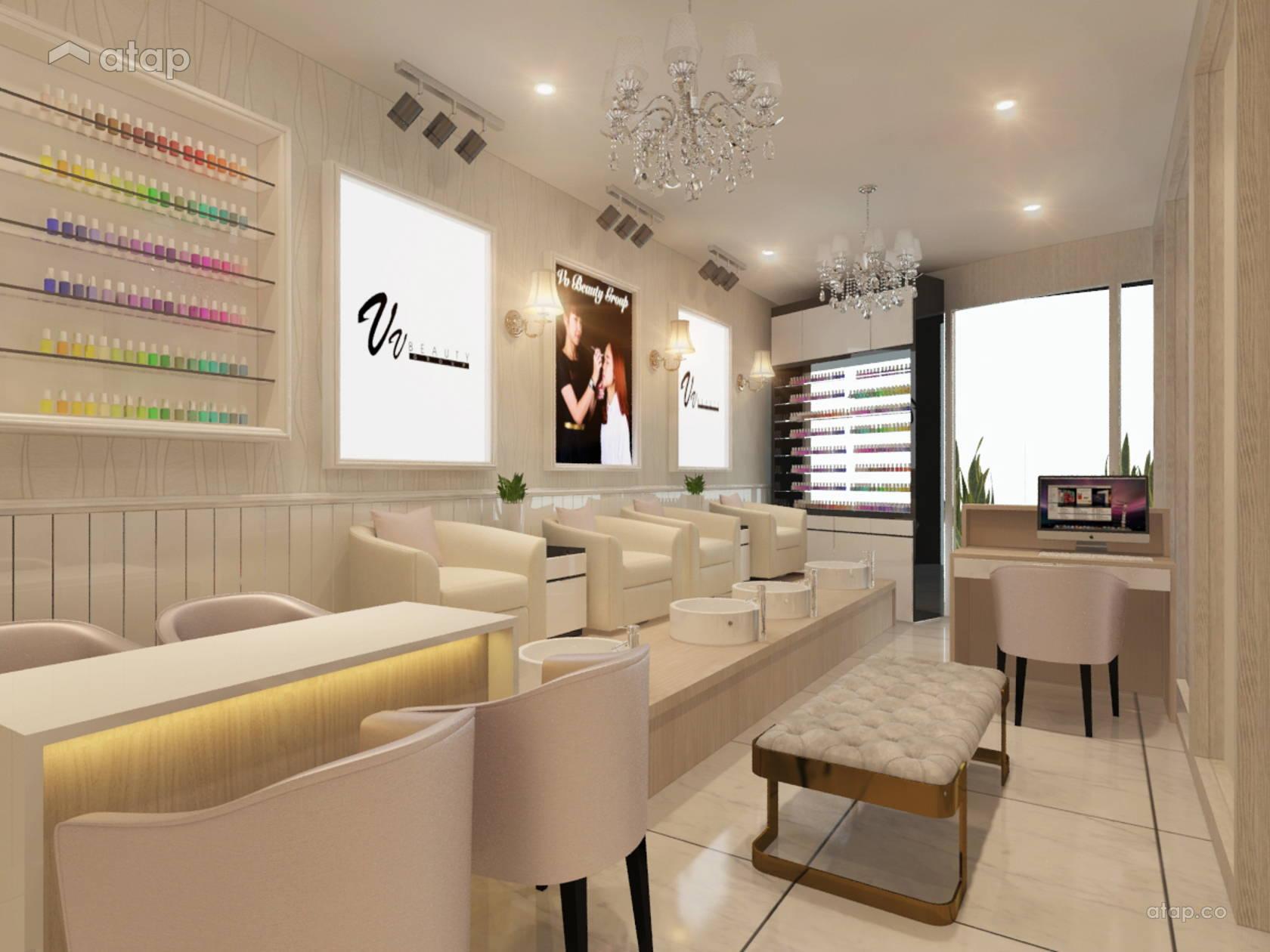 Nail beauty shop interior design renovation ideas, photos and price ...