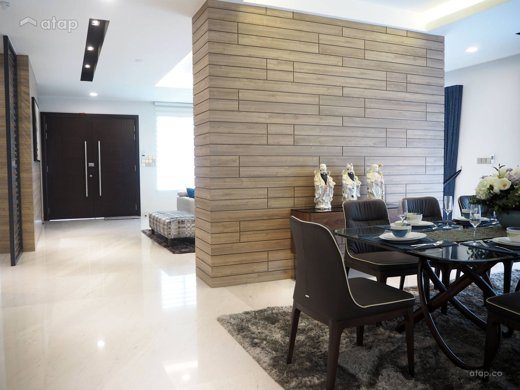 Asian Modern Dining Room Design Ara Damansara Share This Professional