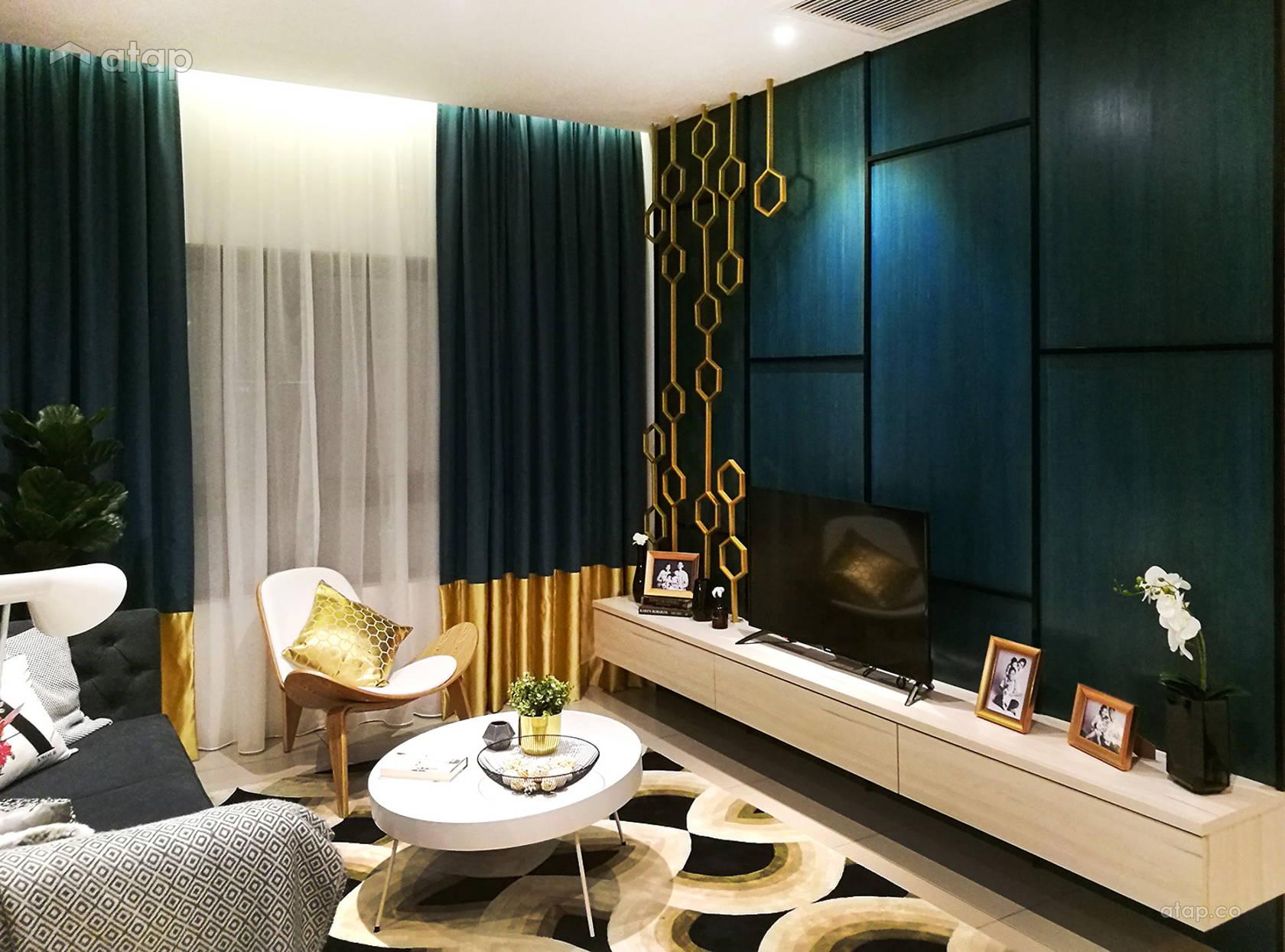 Contemporary Modern Living Room @ Sunway Gandaria (Show Unit - Type A)
