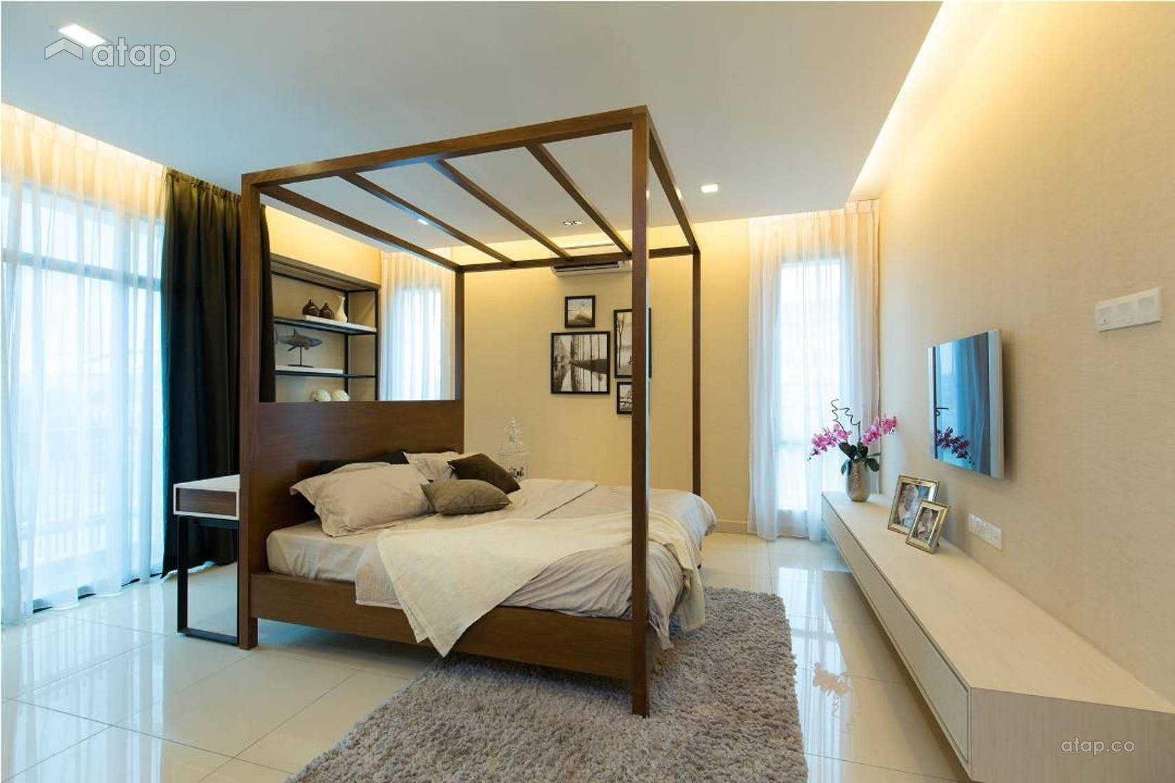 Scandinavian Bedroom @ Damansara Aliff Show House