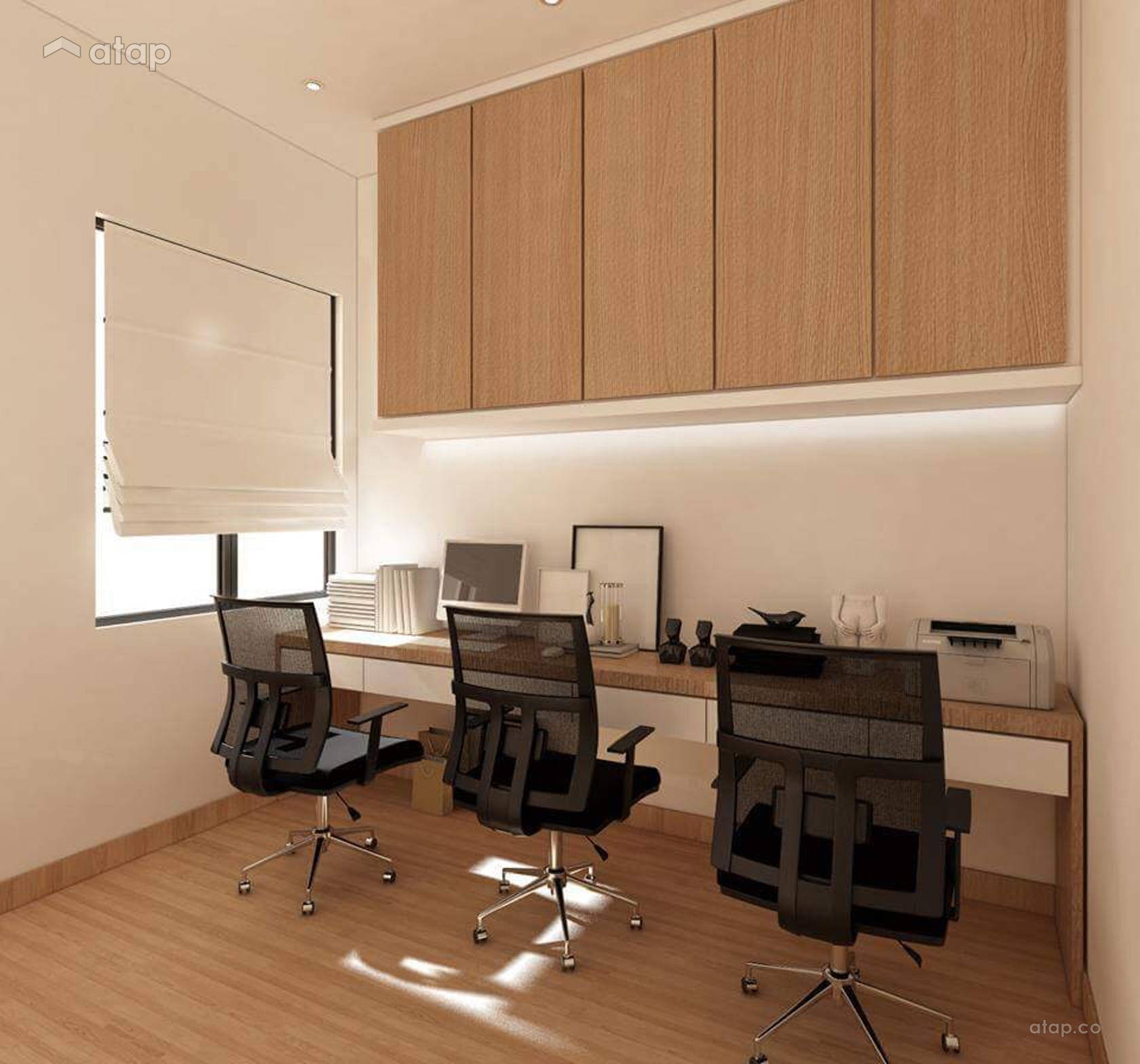 Study Room Color Ideas: Study Room Condominium Design Ideas & Photos Malaysia