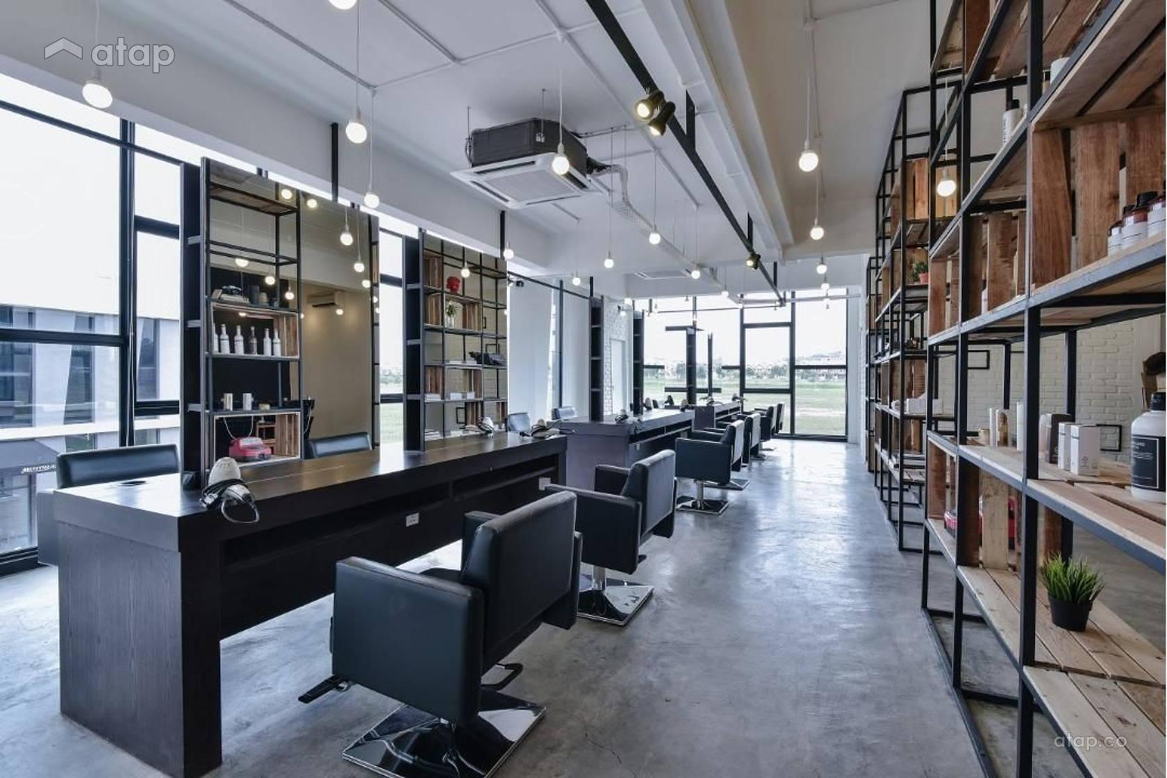 The Editor Hair Salon (First Floor) interior design renovation