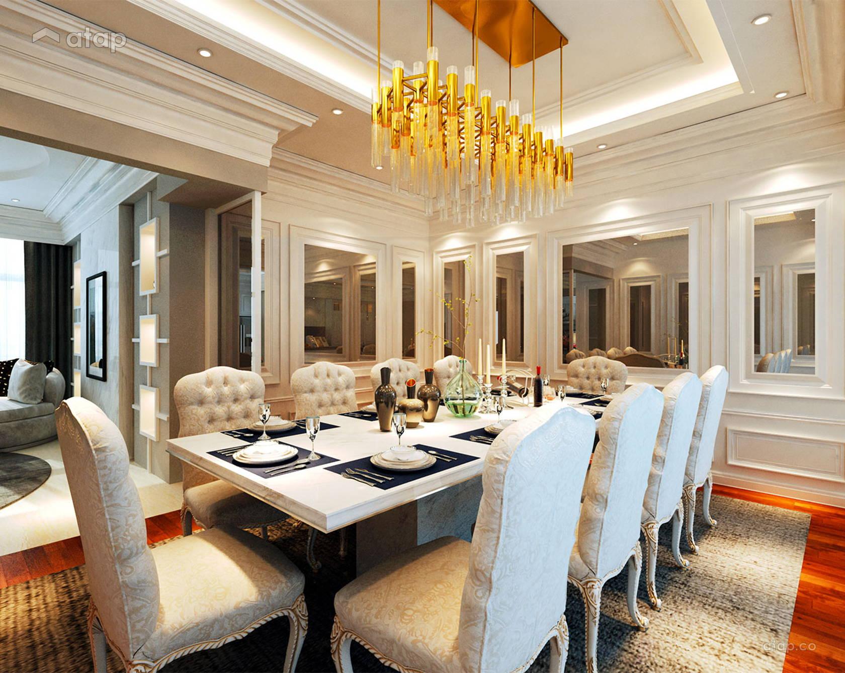 Classic Modern Dining Room @ Sunway Vivaldi Penthouse