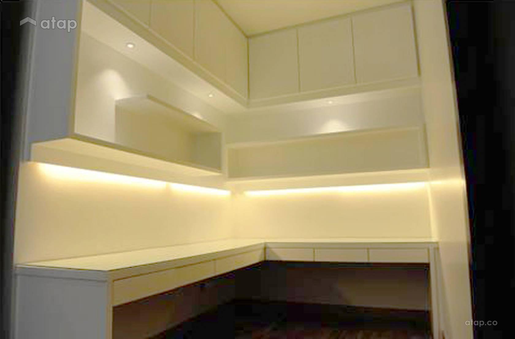 Bayu Segar Semi-Detached House interior design renovation ideas ...