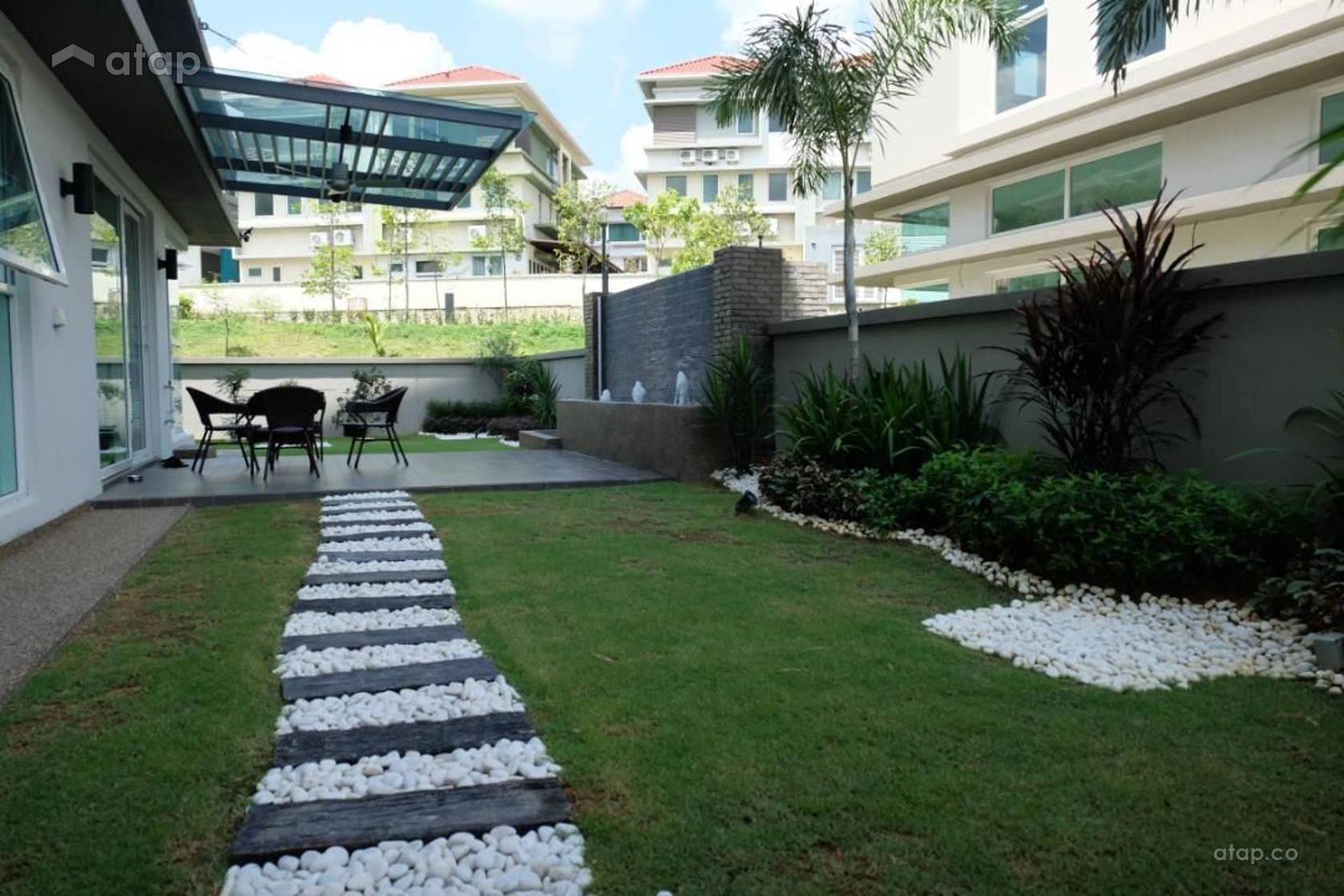 Garden Exterior semi-detached design ideas & photos ...