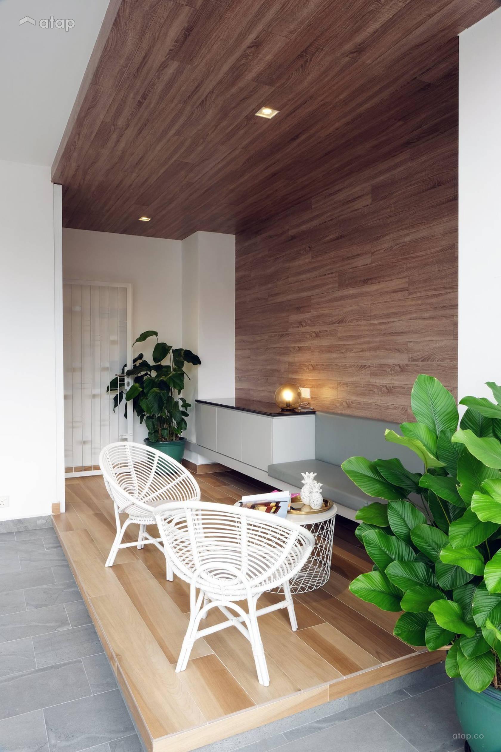 Contemporary Scandinavian Exterior Garden @ A. RESIDENCE