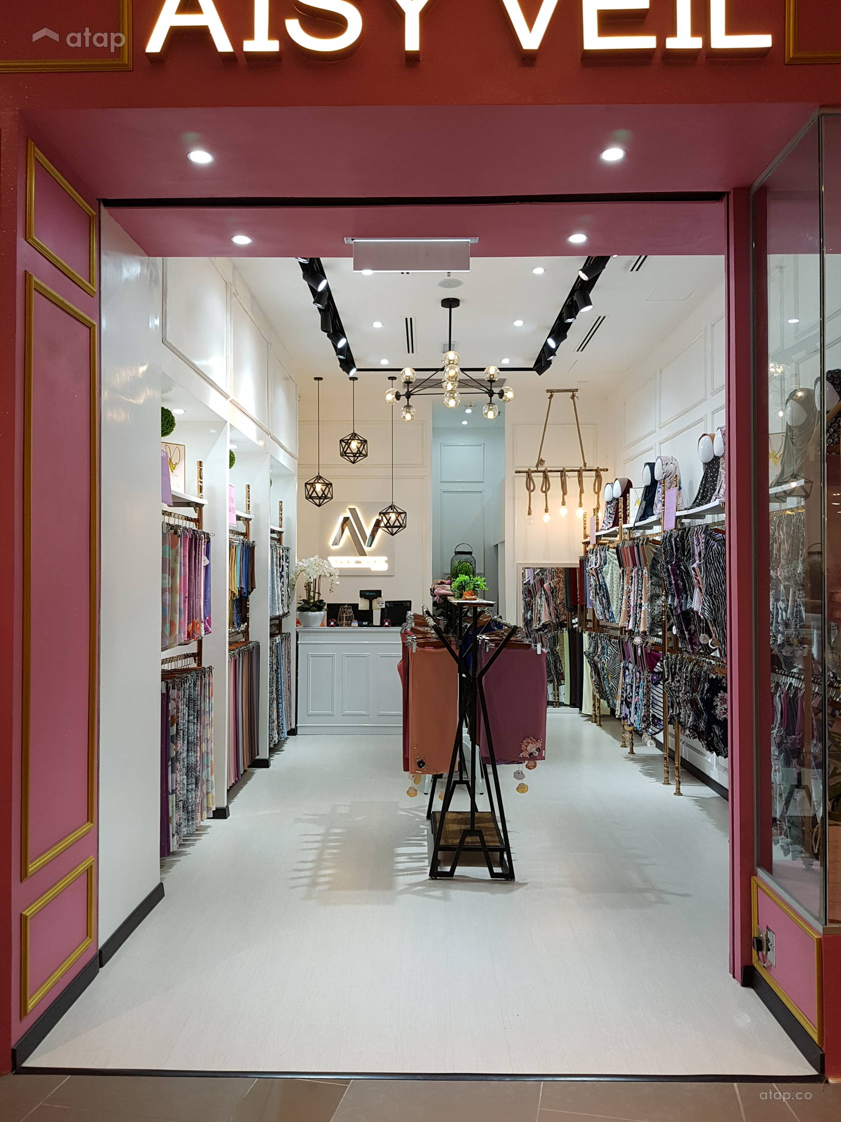 Aisy Veil Boutique Interior Design Renovation Ideas Photos And Price In Malaysia Atap Co