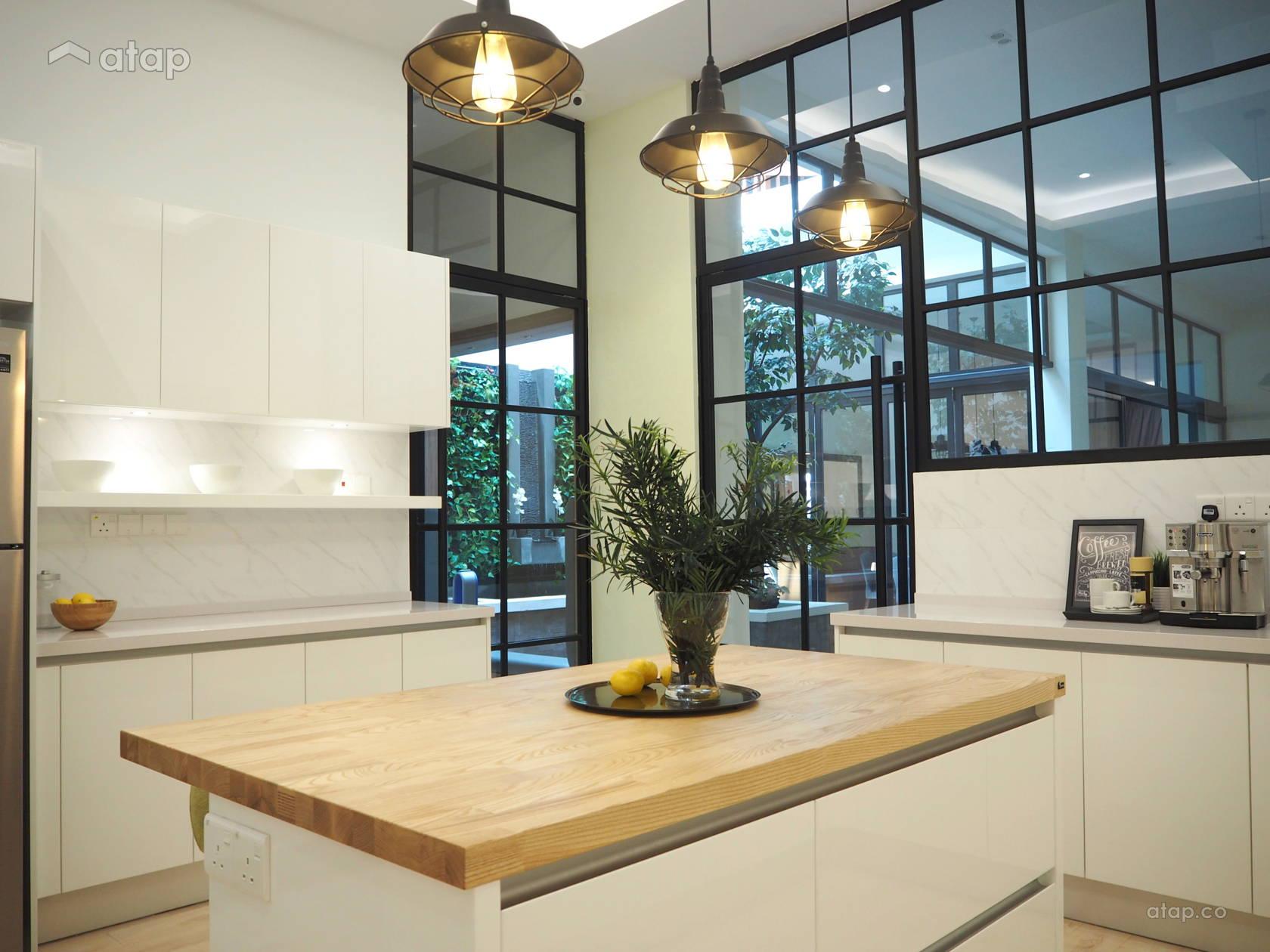 Minimalistic Scandinavian Kitchen @ Modern Scandinavian Kitchen @ Temasya Citra, Shah Alam