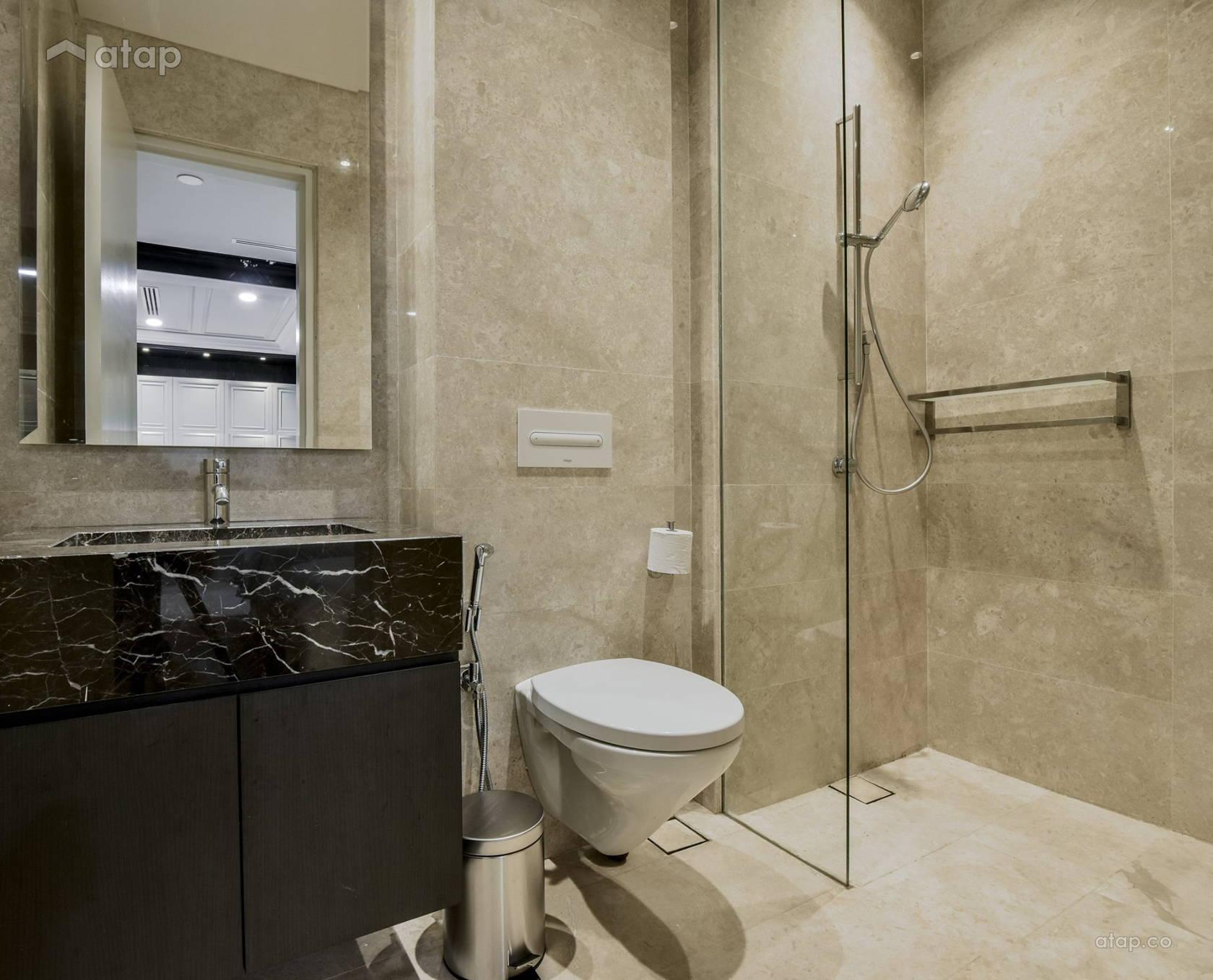 Classic Modern Bathroom Condominium Design Ideas Photos Malaysia Atap Co,Types Of House Interior Designs