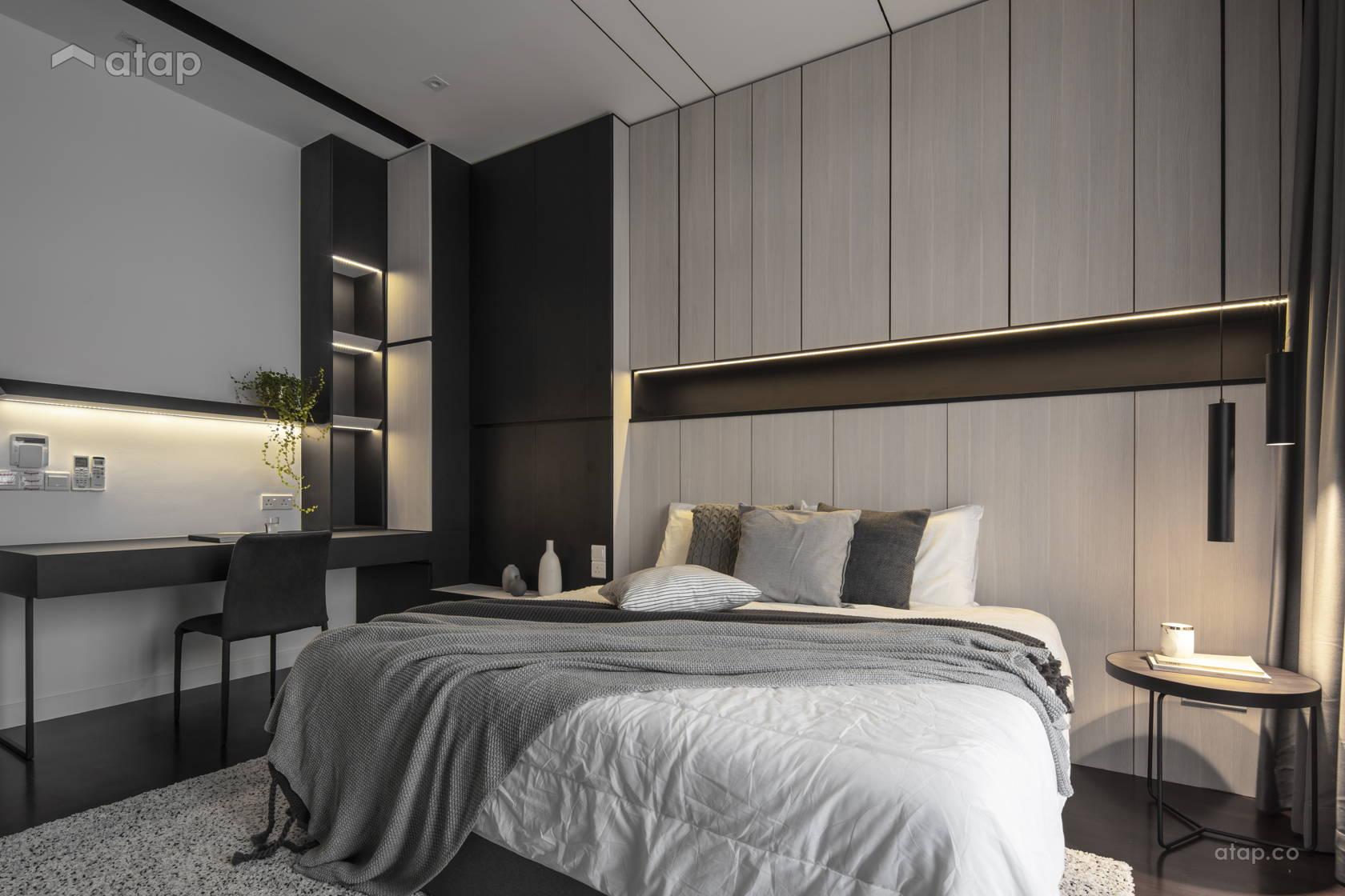 Contemporary Modern Bedroom Study Room Terrace Design Ideas Photos Malaysia Atap Co