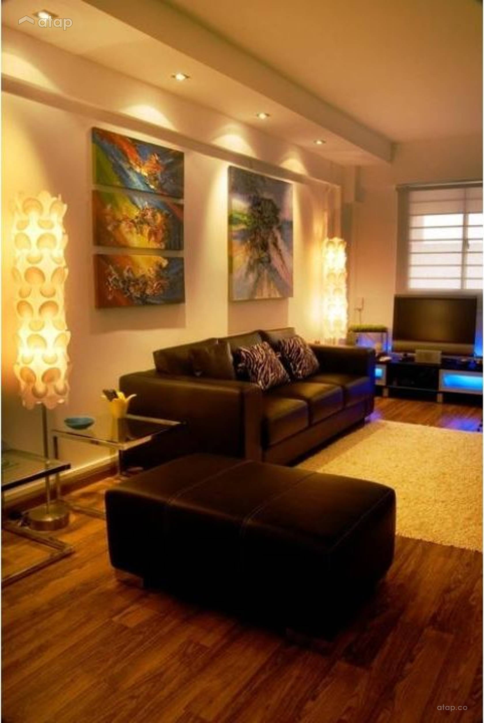 Asian Living Room @ Taman Rainbow Residence Share This Professional
