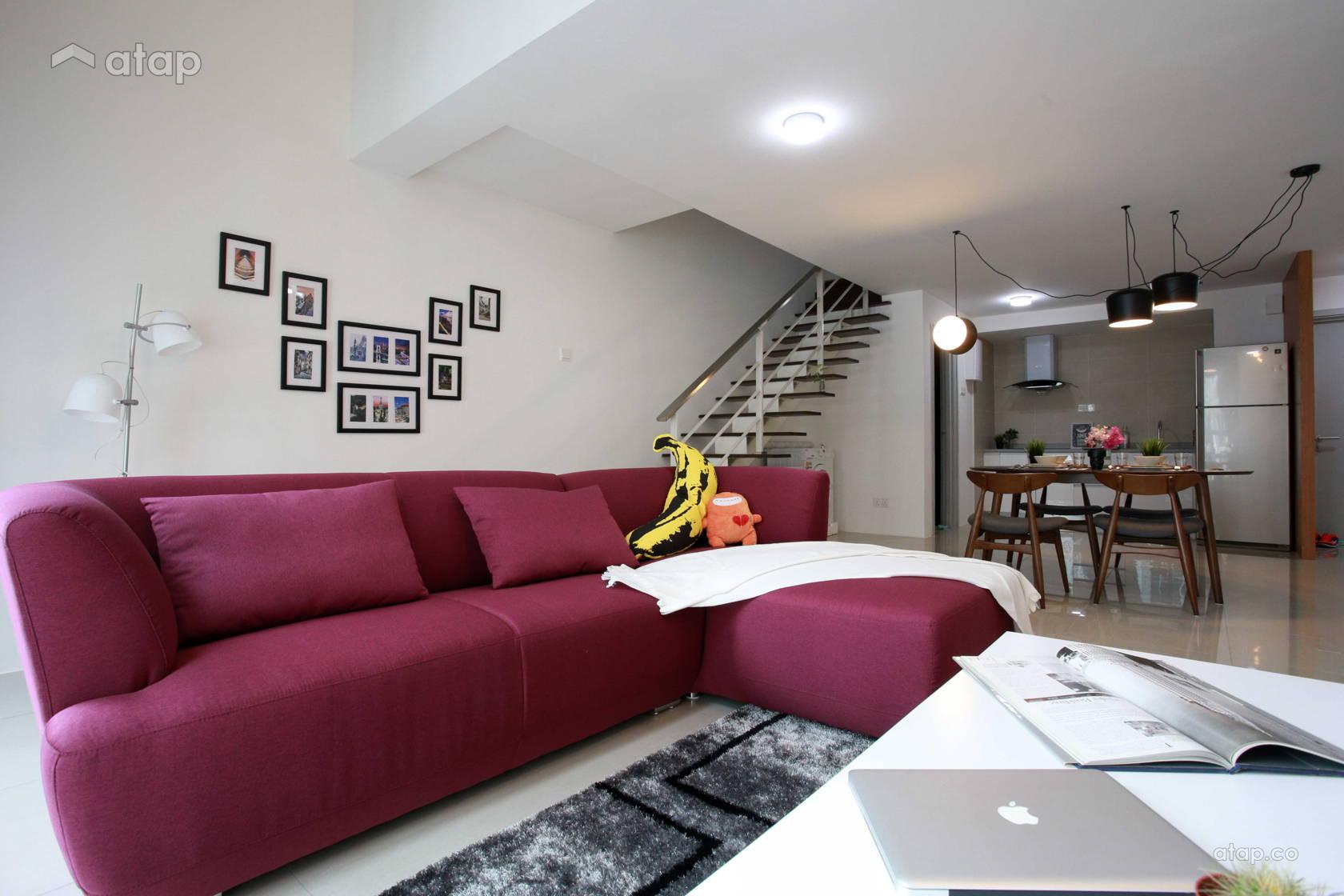 Modern Dining Room Living Room @ Subang Arte