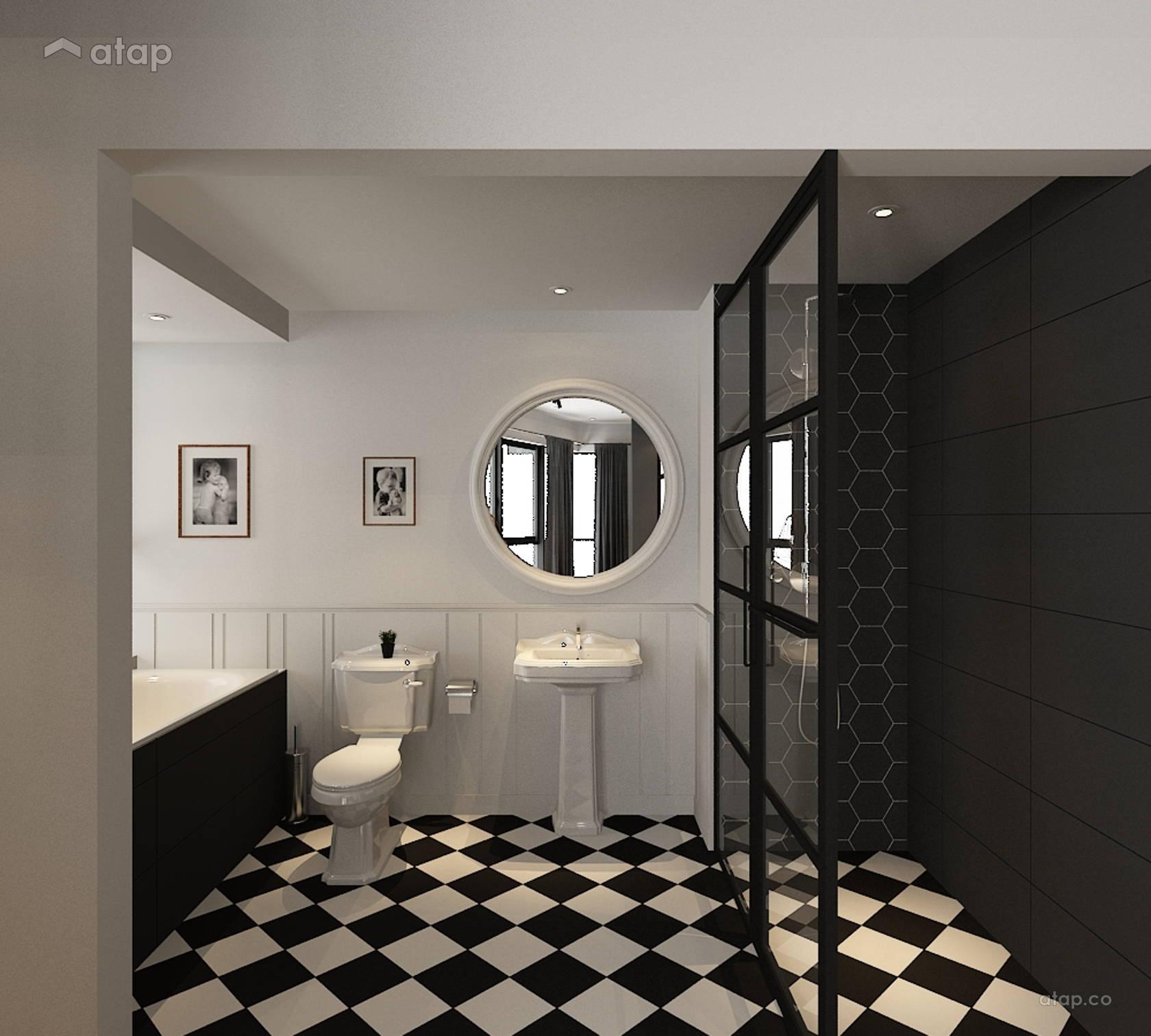 Minimalistic Bathroom @ Serin Cristal Residence
