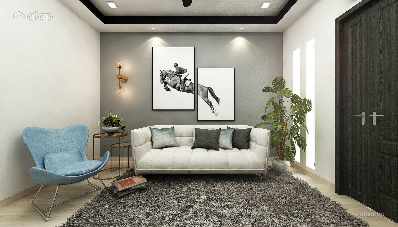 Single Storey Terrace House Ss12 Architectural Interior Design Renovation Ideas Photos And Price In Malaysia Atap Co