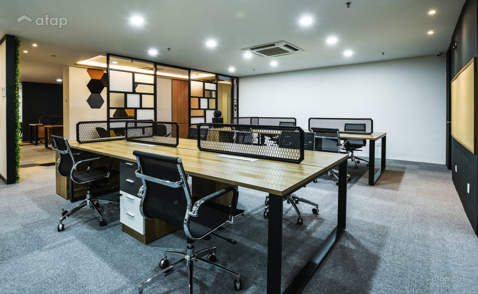 industrial office. Modern Industrial . Colours Office Interior Design Renovation Ideas, Photos And Price In Malaysia | Atap.co