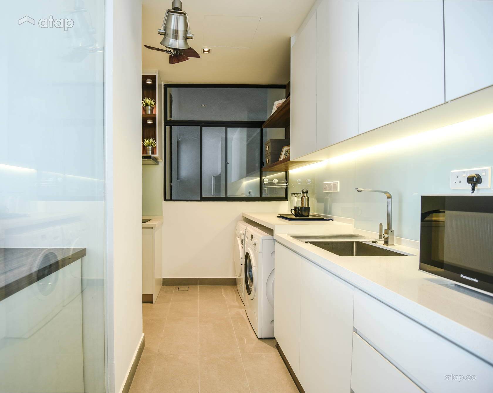 Contemporary Modern Kitchen @ Cloudtree Residence, Balakong