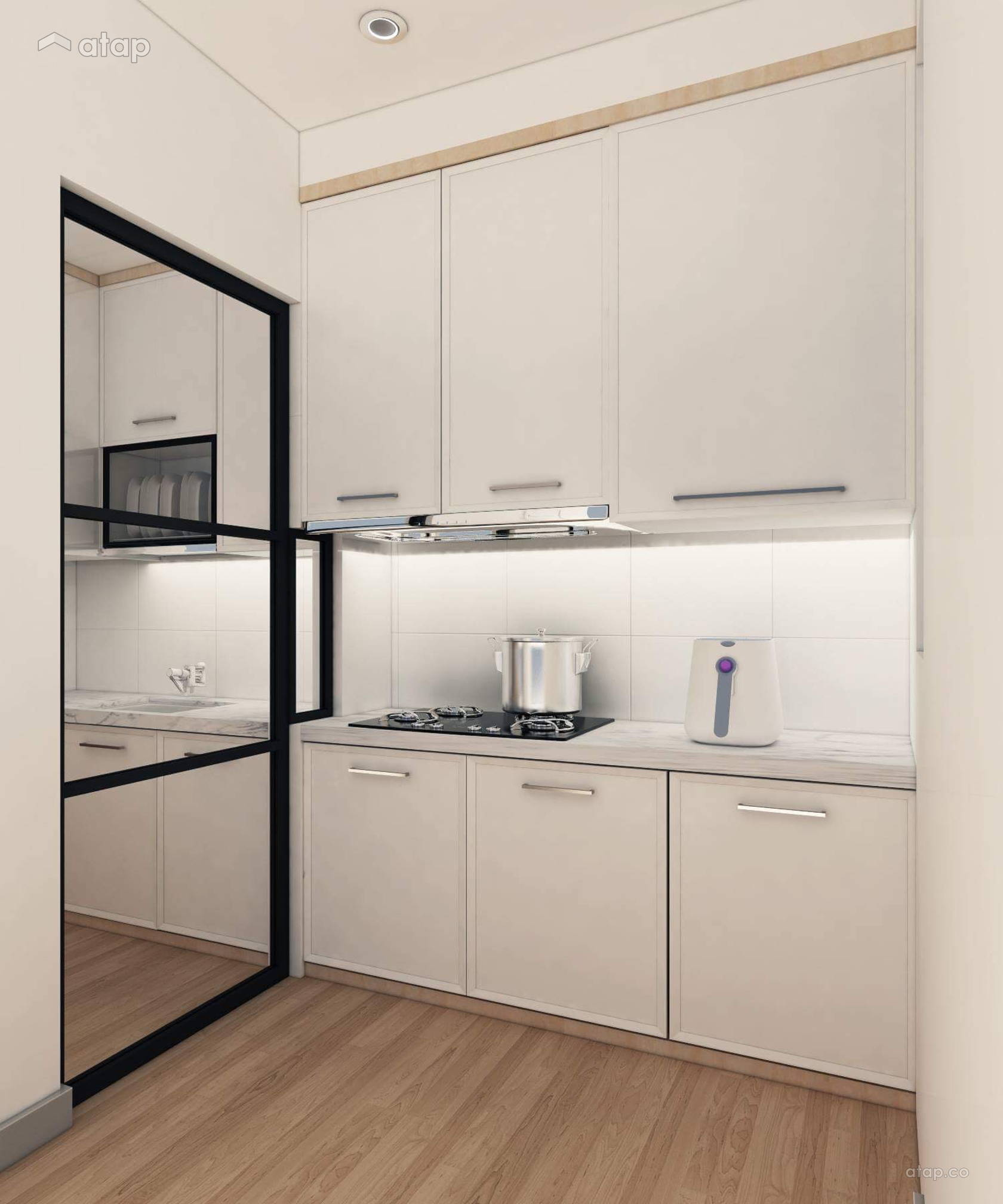 Japanese Inspired Kitchen Design: Kitchen Condominium Design Ideas & Photos Malaysia