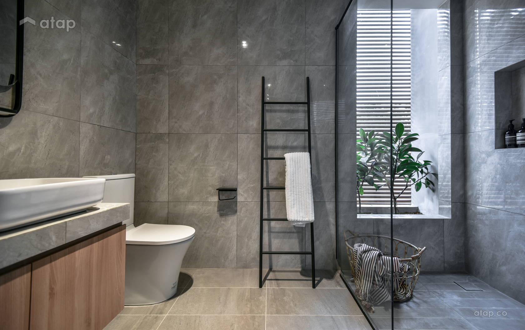 Minimalistic Scandinavian Bathroom @ A hope filled home
