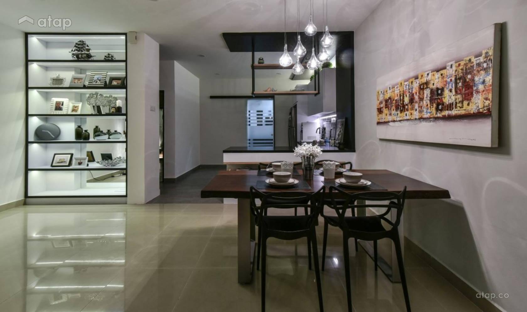 Contemporary Modern Dining Room @ Bandar Kinrara 9