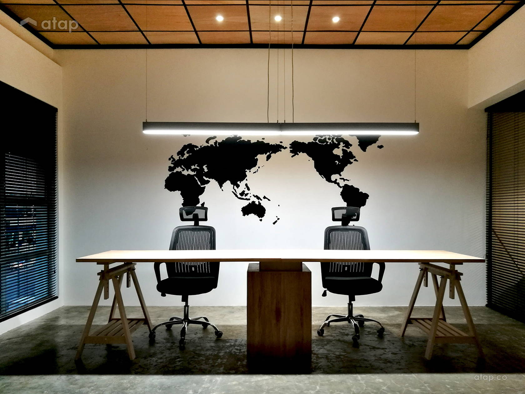 Contemporary Minimalistic Office @ ADSB Office