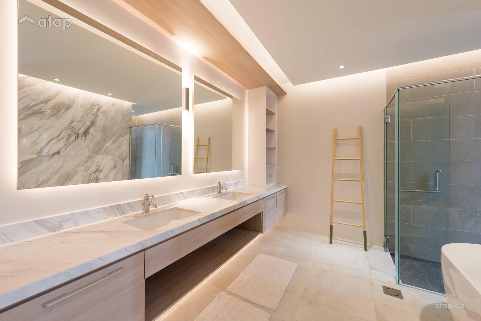Scandinavian Bungalow When Simplicity Matters Asian Bathroom Design Ideas Photos Malaysia Atap Co