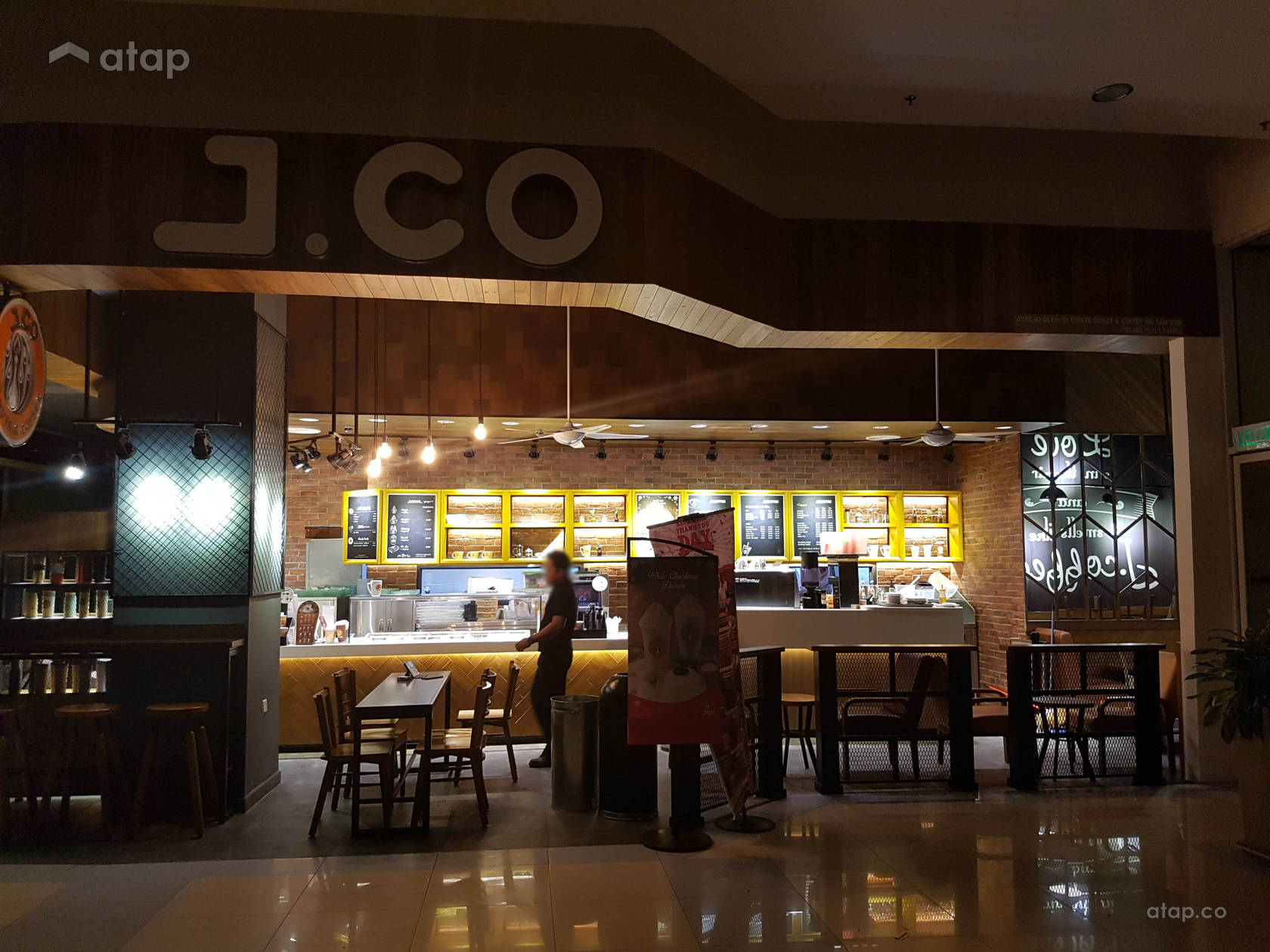 JCO AEON Bandar Raya Melaka architectural interior design
