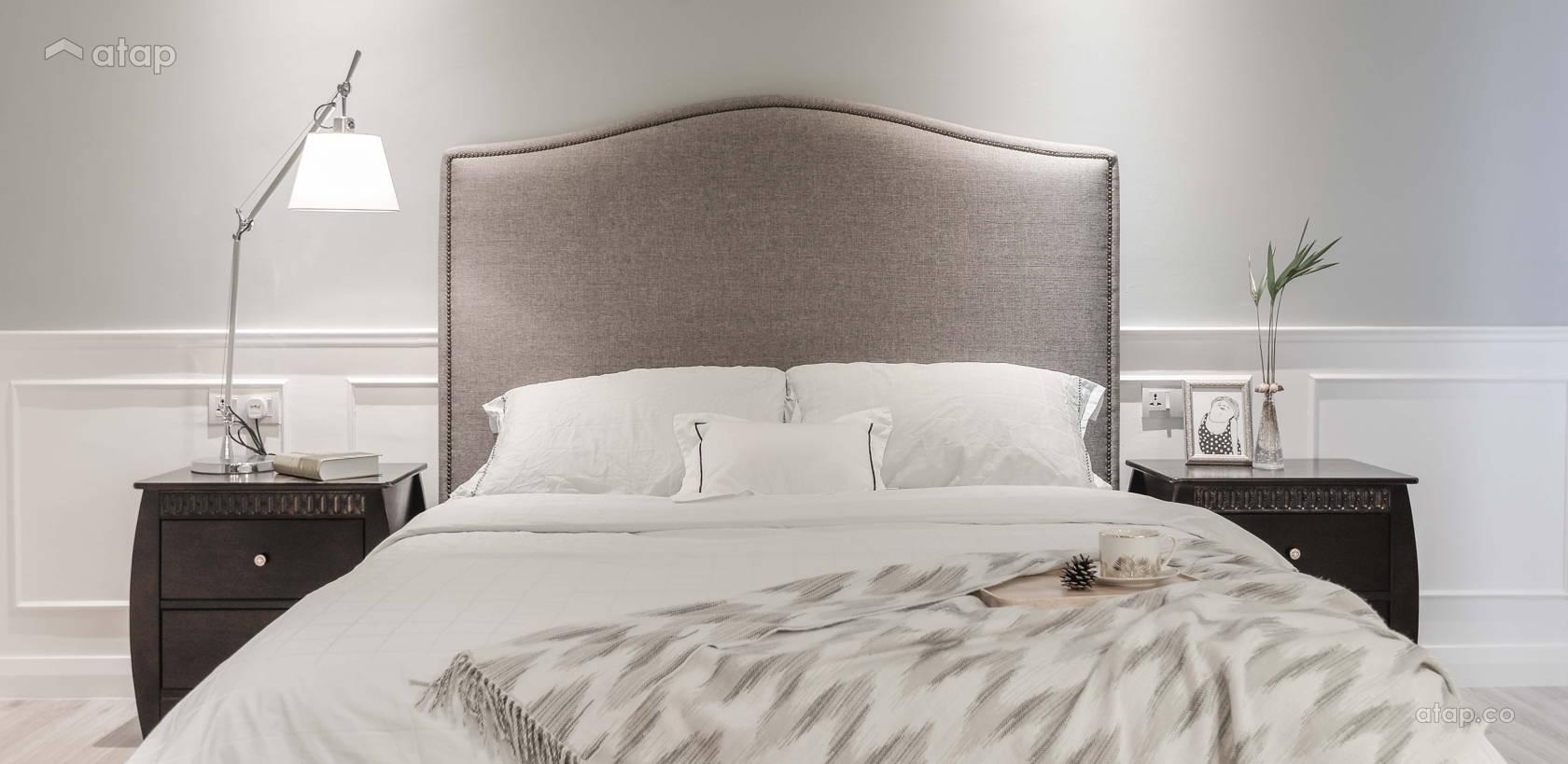 Minimalistic Modern Bedroom @ Li Villas