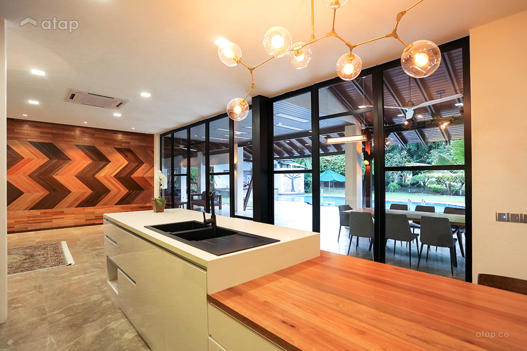 Contemporary Modern Kitchen @ 39@KGSAAS