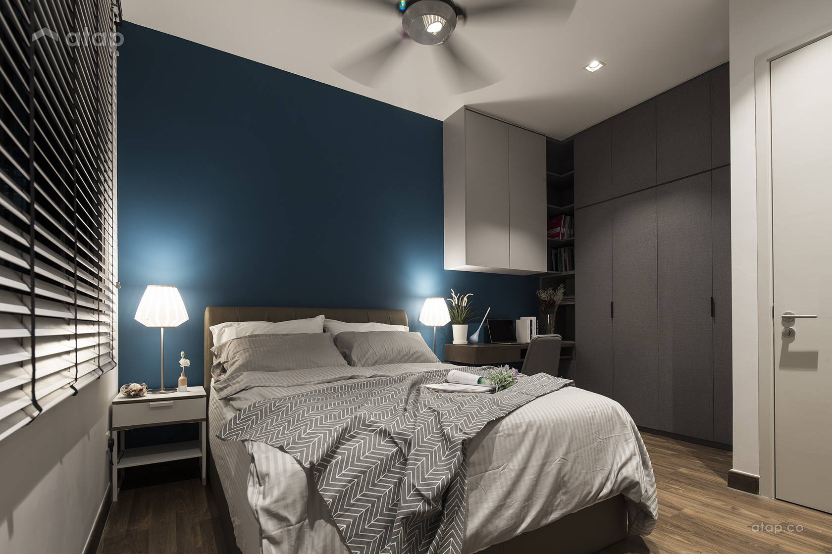 Contemporary Modern Bedroom Study Room @ The Reach, Titiwangsa