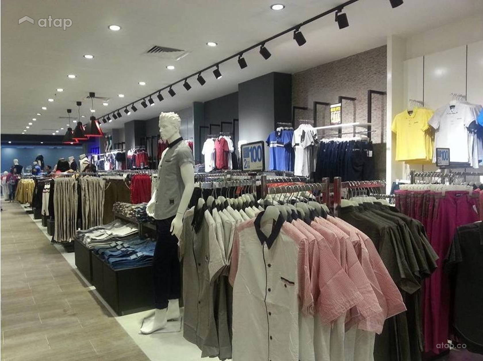Ad Jeans Times Square Megamall Bintulu Interior Design Renovation Pinang Muda Fress Ideas Photos And Price In Malaysia