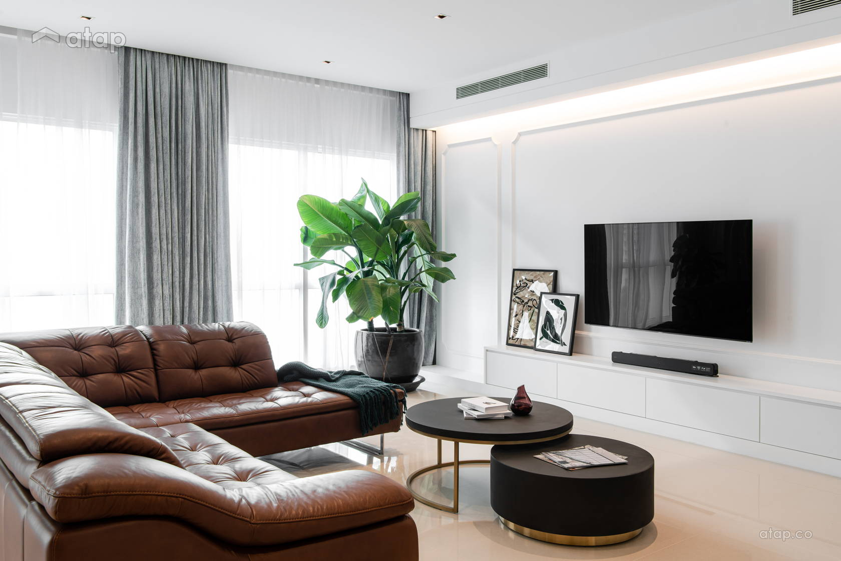 Contemporary Modern Living Room @ Pavilion Hilltop, Mon't Kiara