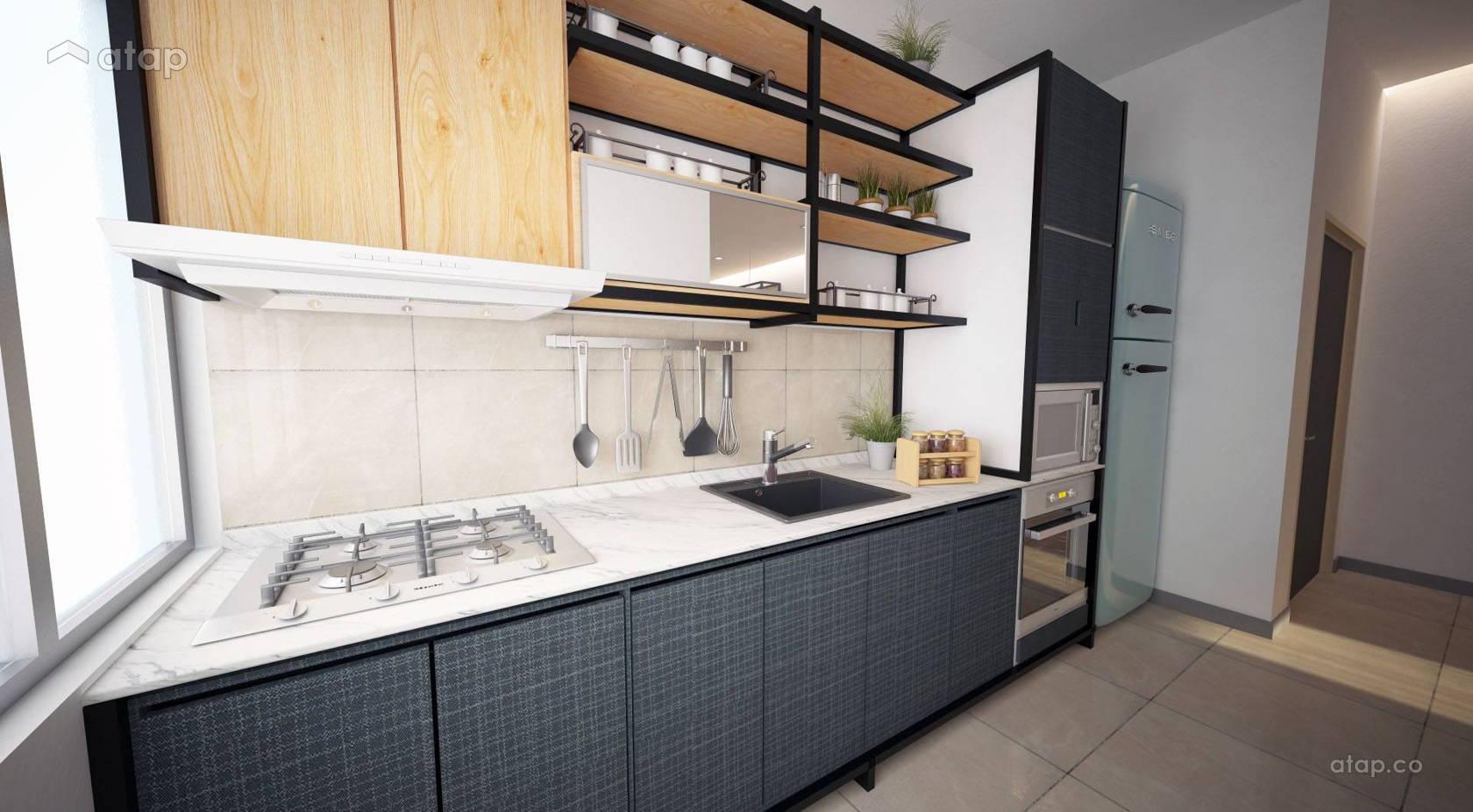Country Modern Kitchen Damai Vista Alam