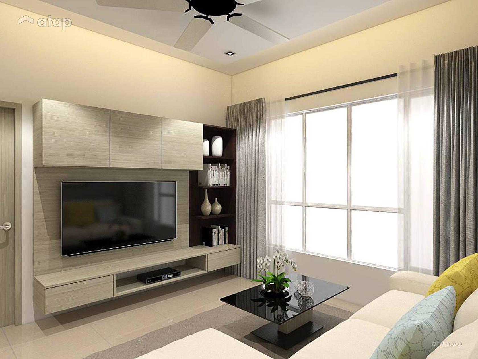 Contemporary Zen Living Room condominium design ideas ...